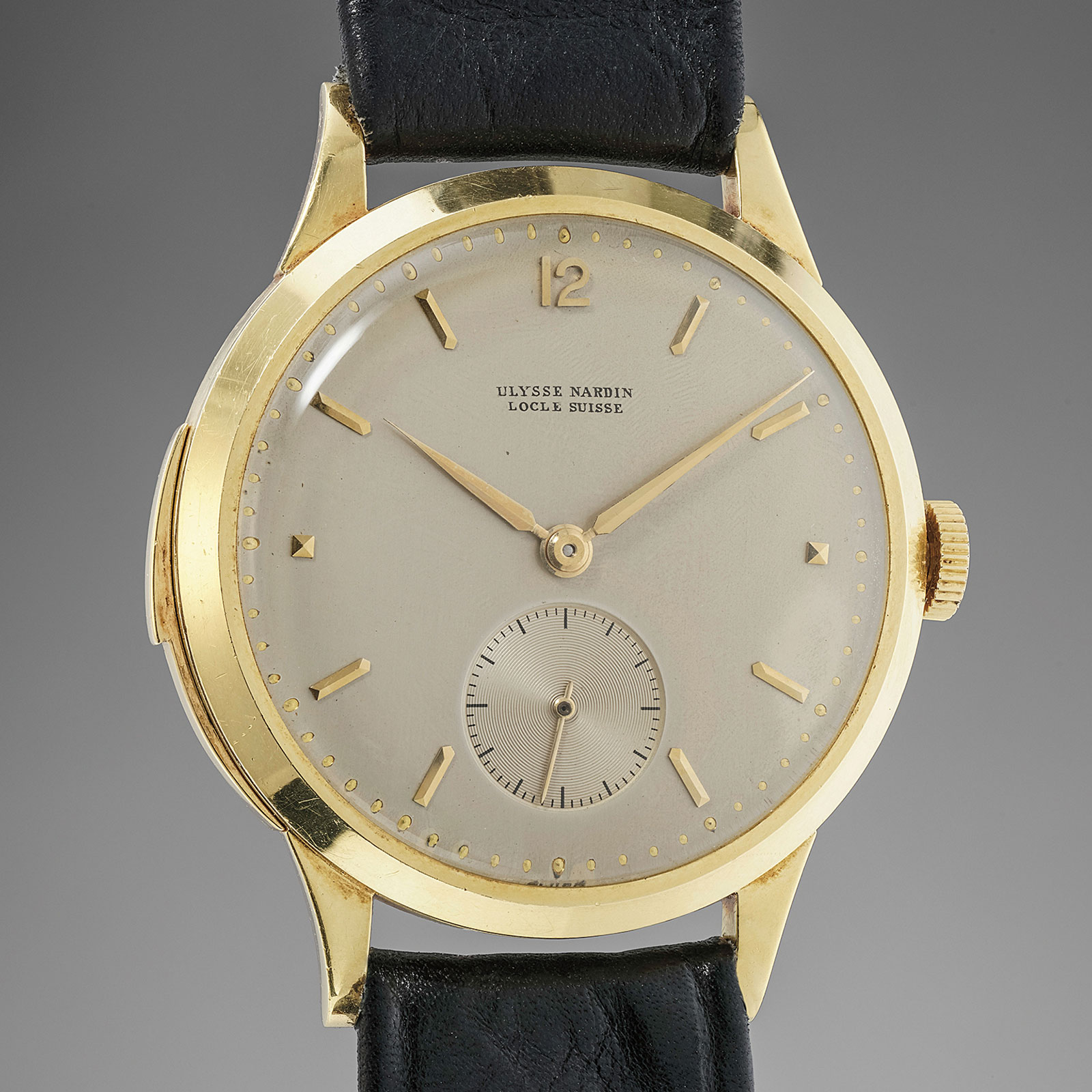 Ulysse Nardin minute repeater wristwatch 1950 phillips