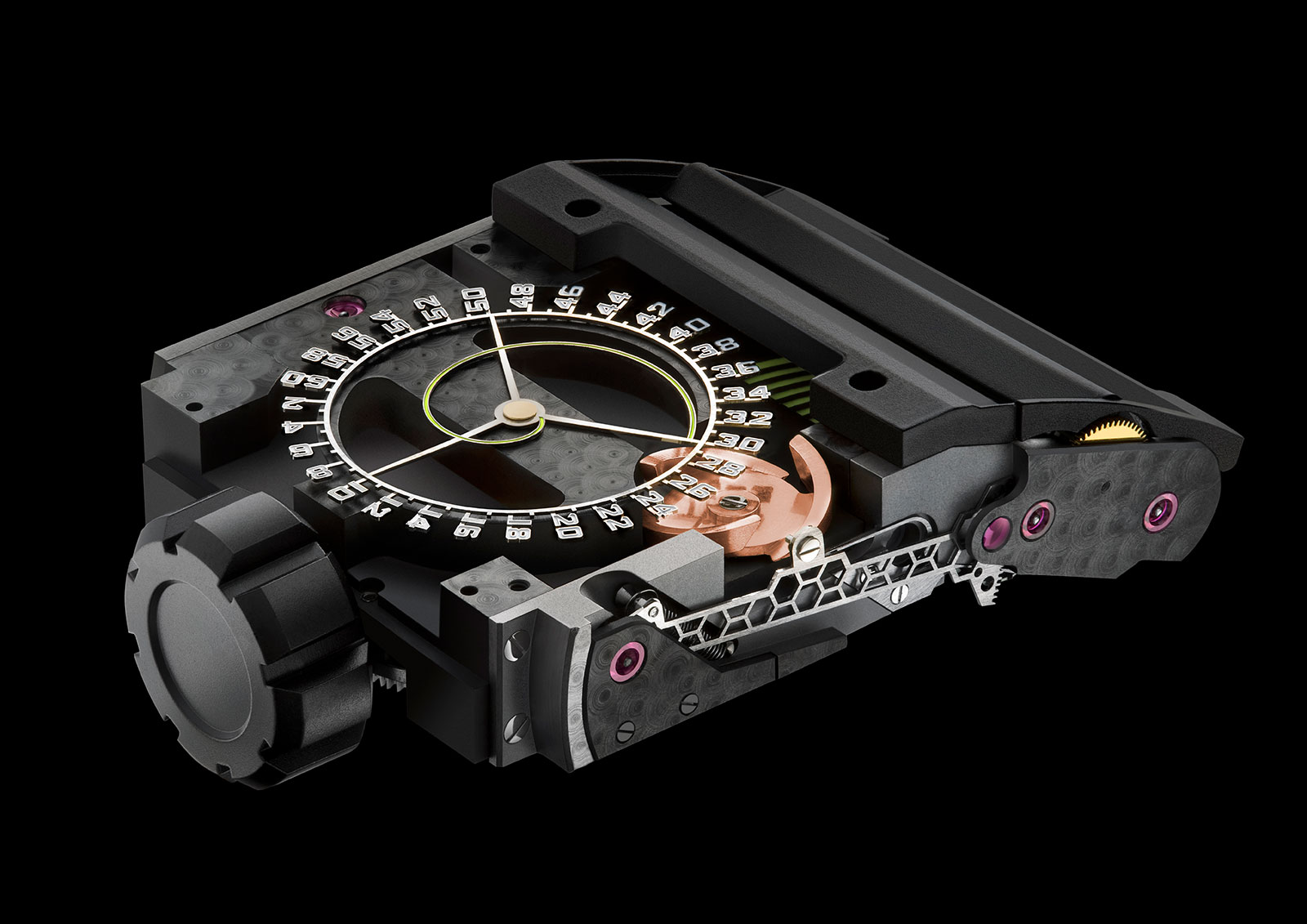 Urwerk UR CC1 King Cobra movement