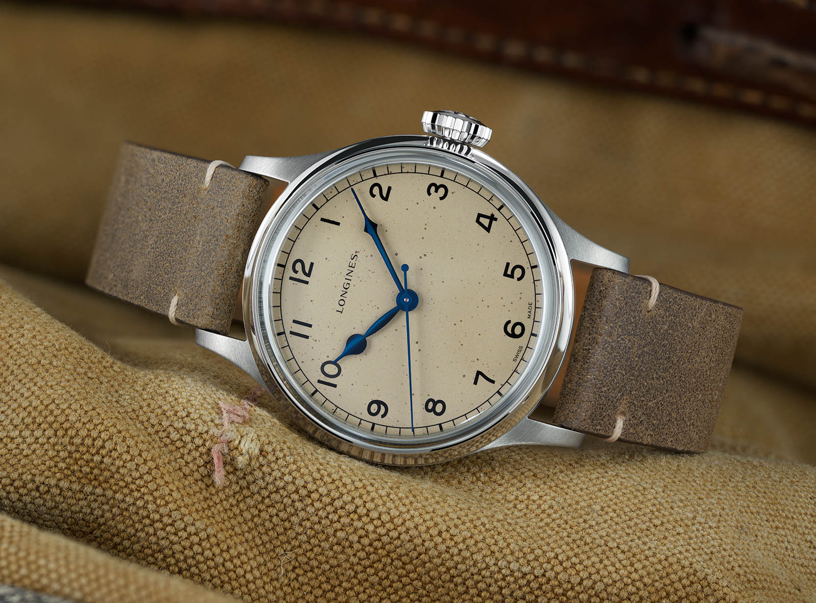 the Longines Heritage Military Watch 3