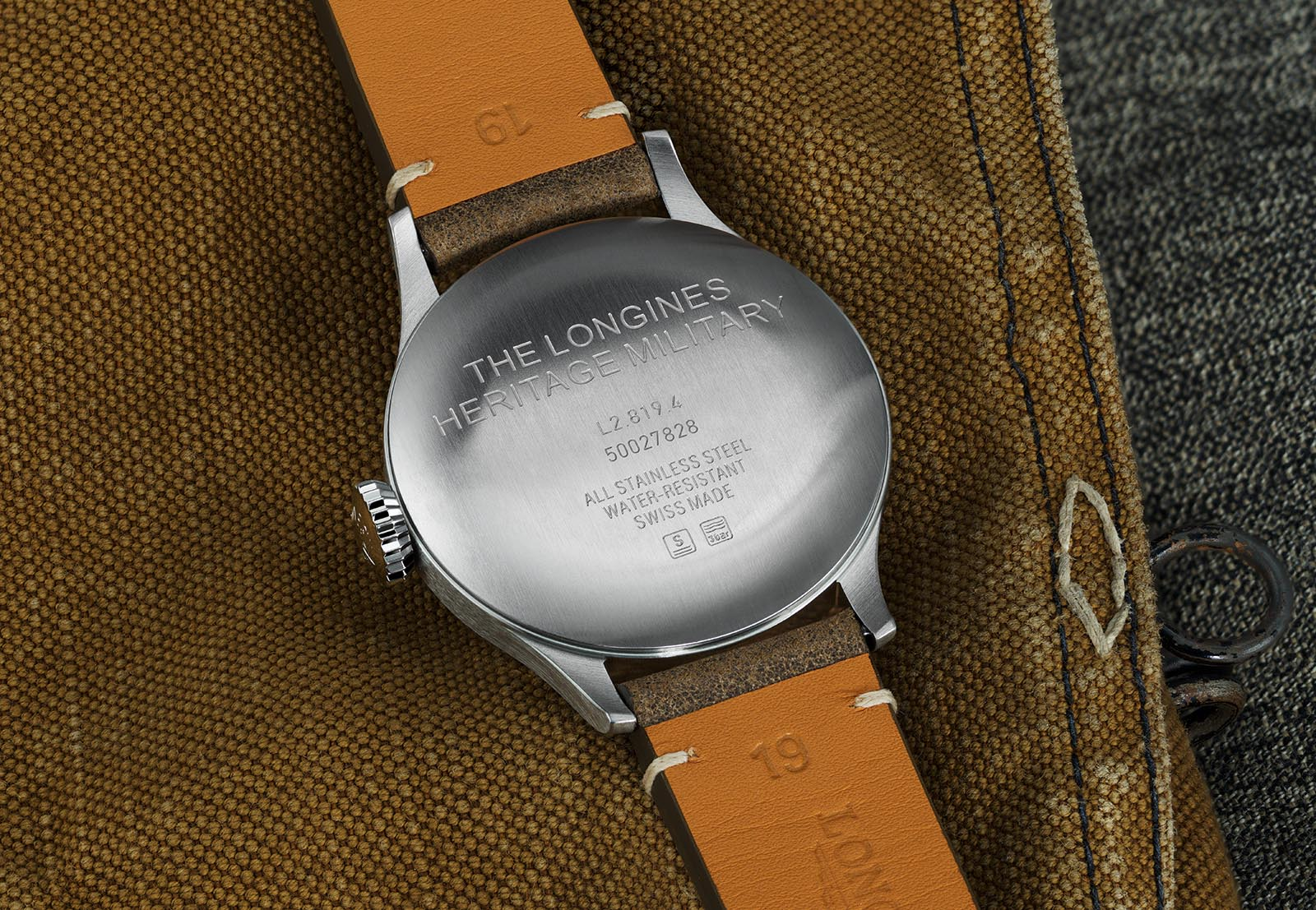 the Longines Heritage Military Watch 4