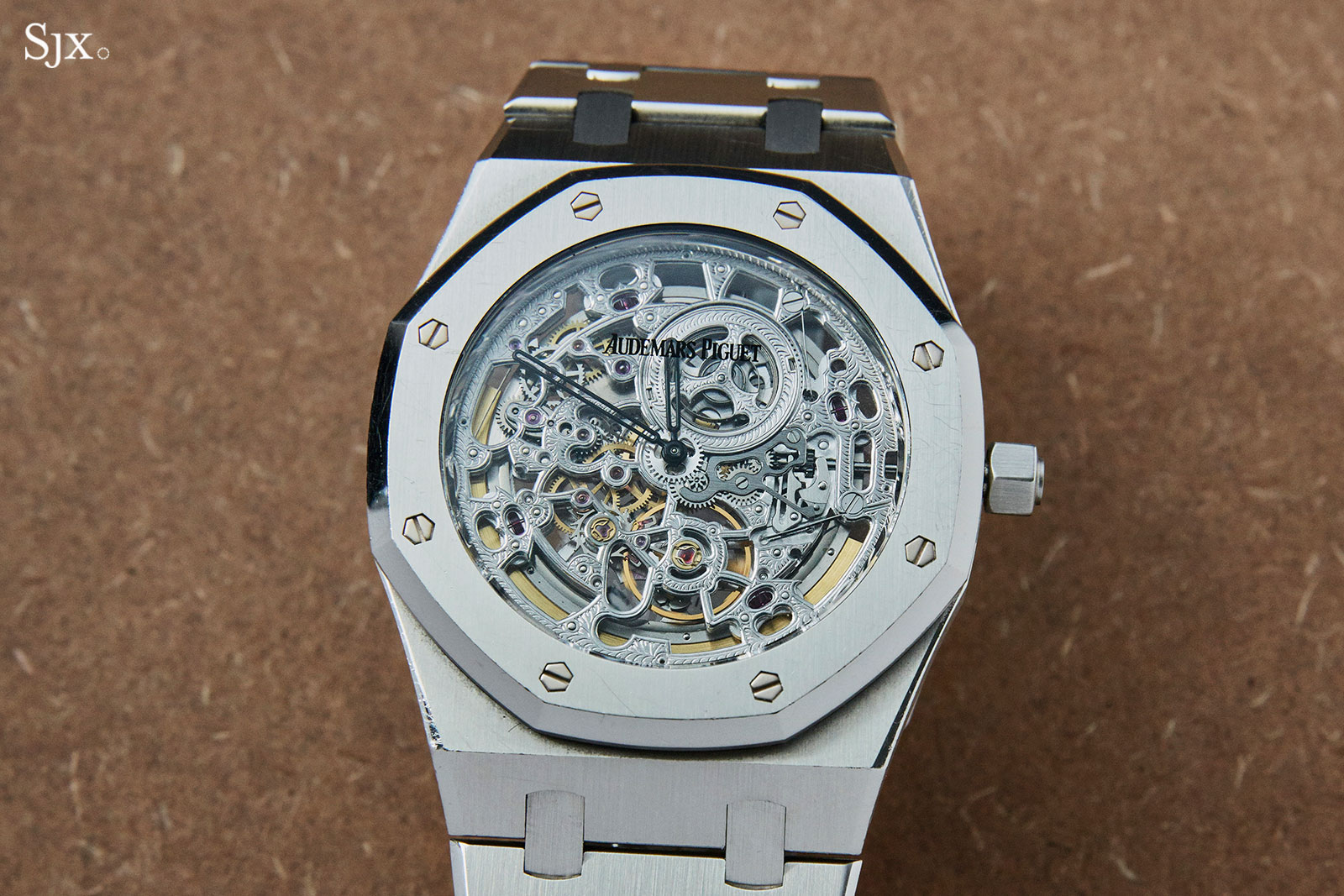 AP royal oak jumbo skeleton steel 1