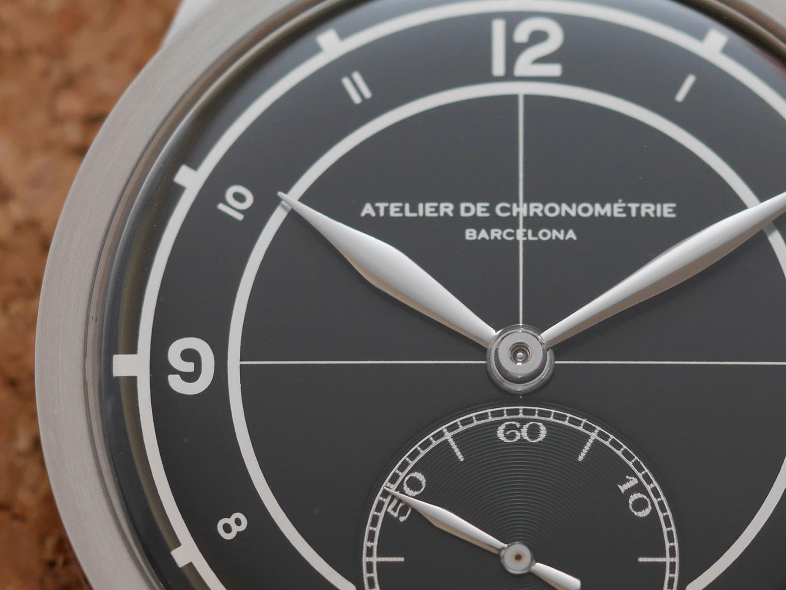 Atelier Chronometrie AdC88 steel 1