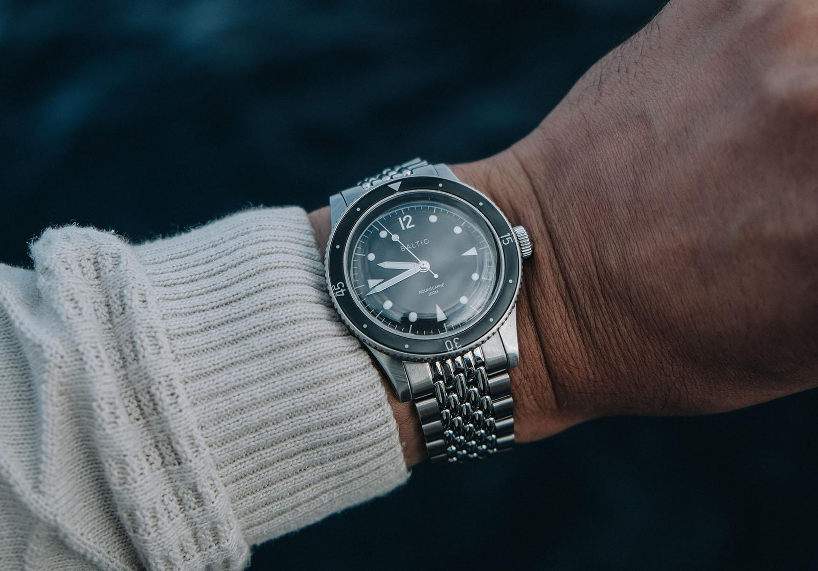 Baltic Aquascaphe Dive Watch