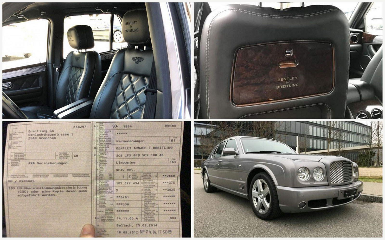 Breitling Bentley Arnage T car