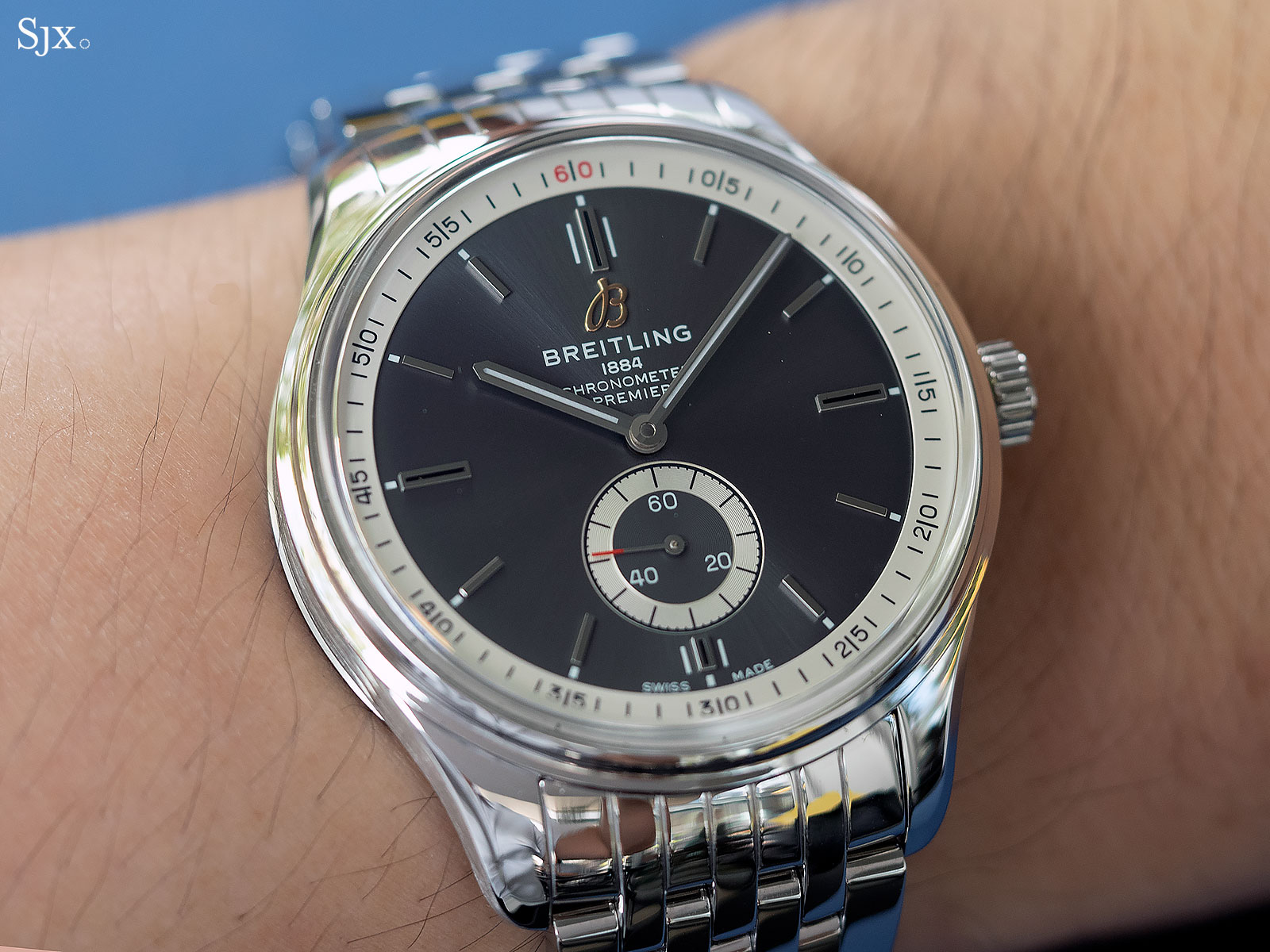 Hands On With The New Breitling Premier Sjx Watches