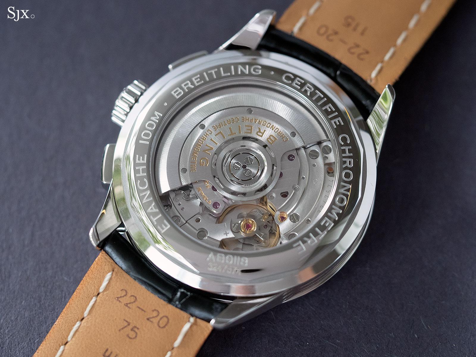 Breitling Premier B01 movement 1