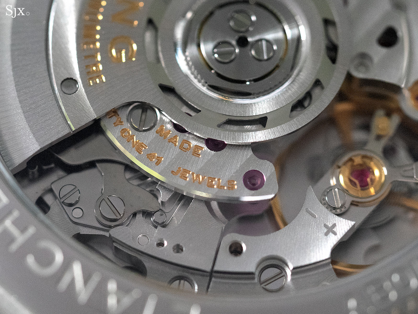 Breitling Premier B01 movement 2