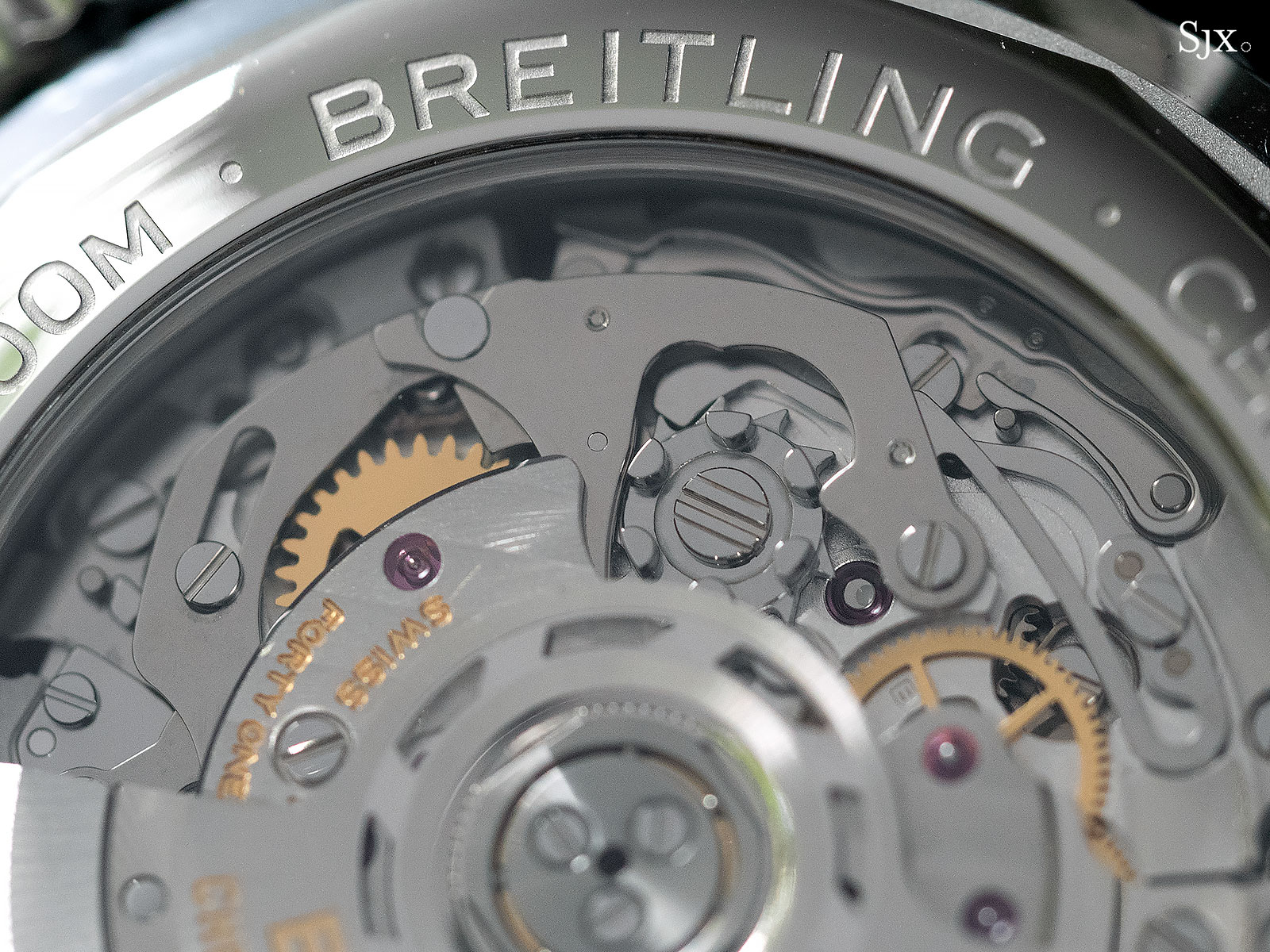 Breitling Premier B01 movement 3