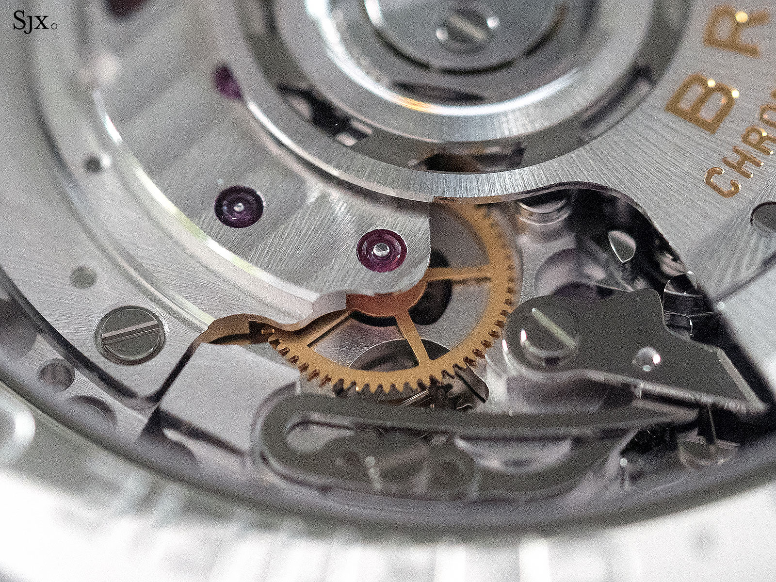 Breitling Premier B01 movement 4