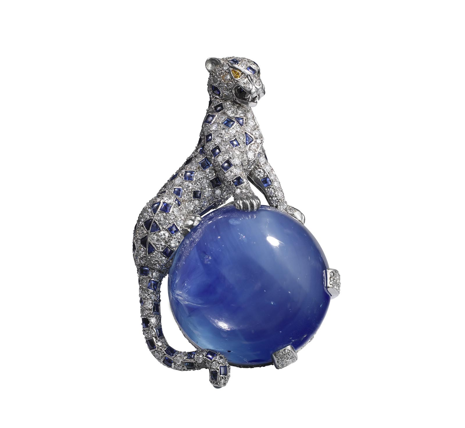 Cartier, Icon of Style - Duchess of Windsor - Panther Clip Brooch