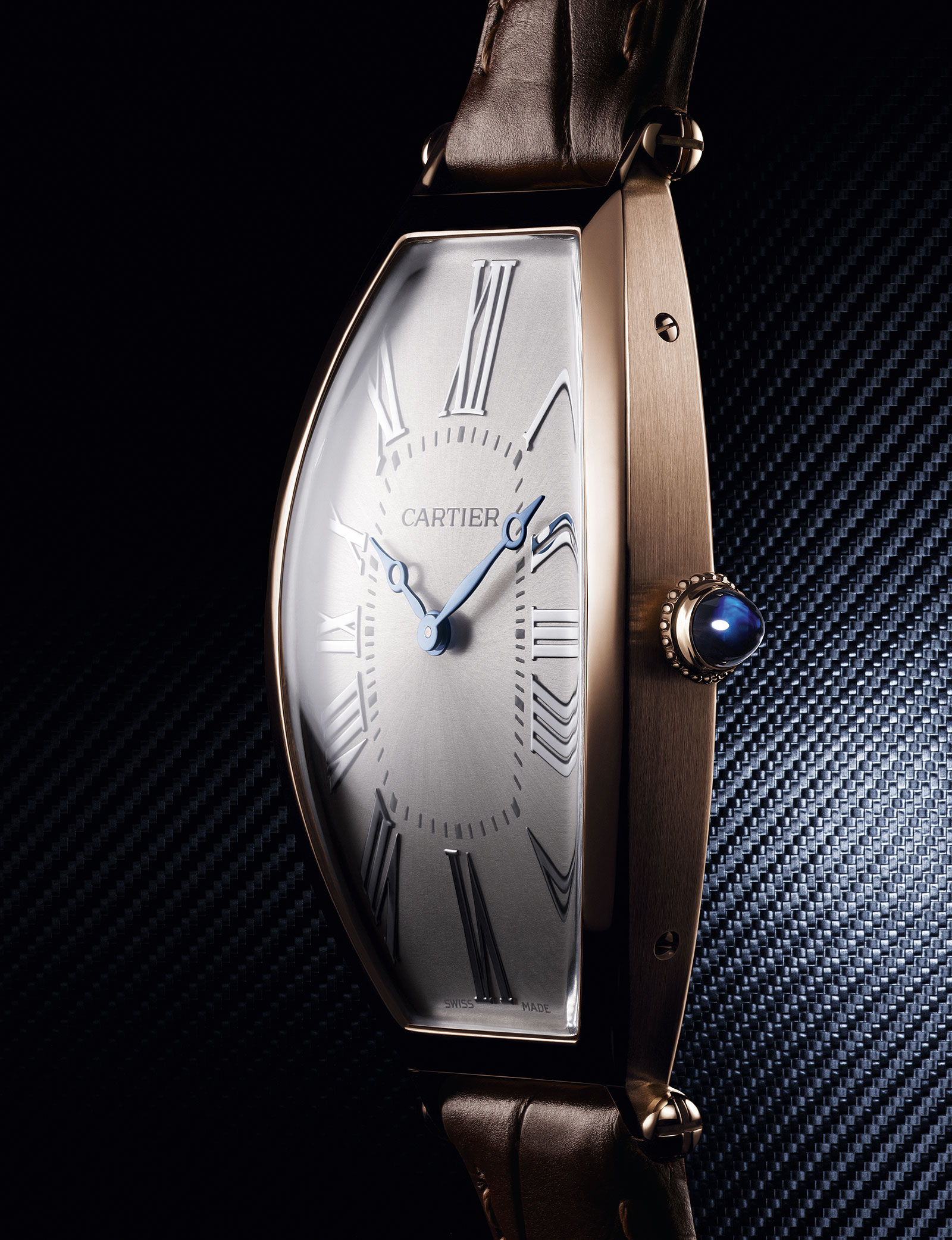 Cartier Privé Tonneau Large Model pink gold