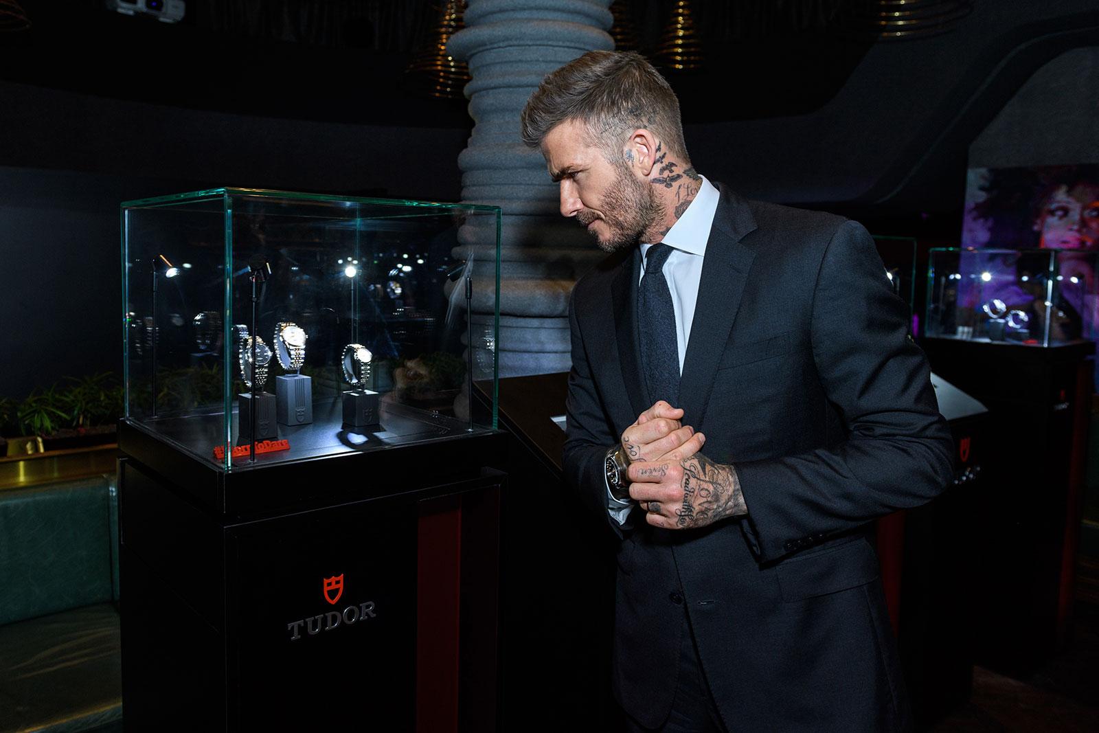 David Beckham Tudor Singapore 1