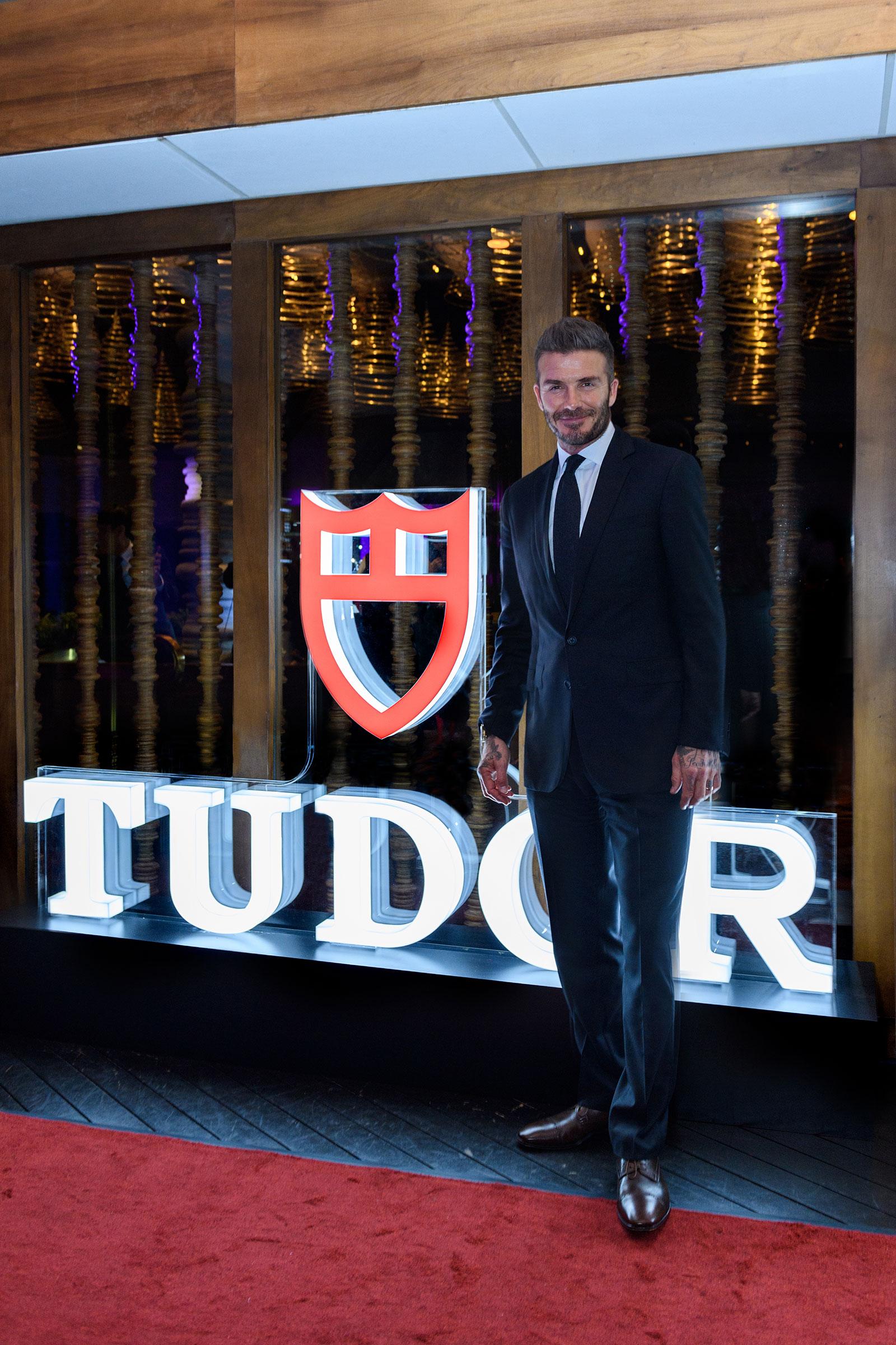 David Beckham Tudor Singapore 2