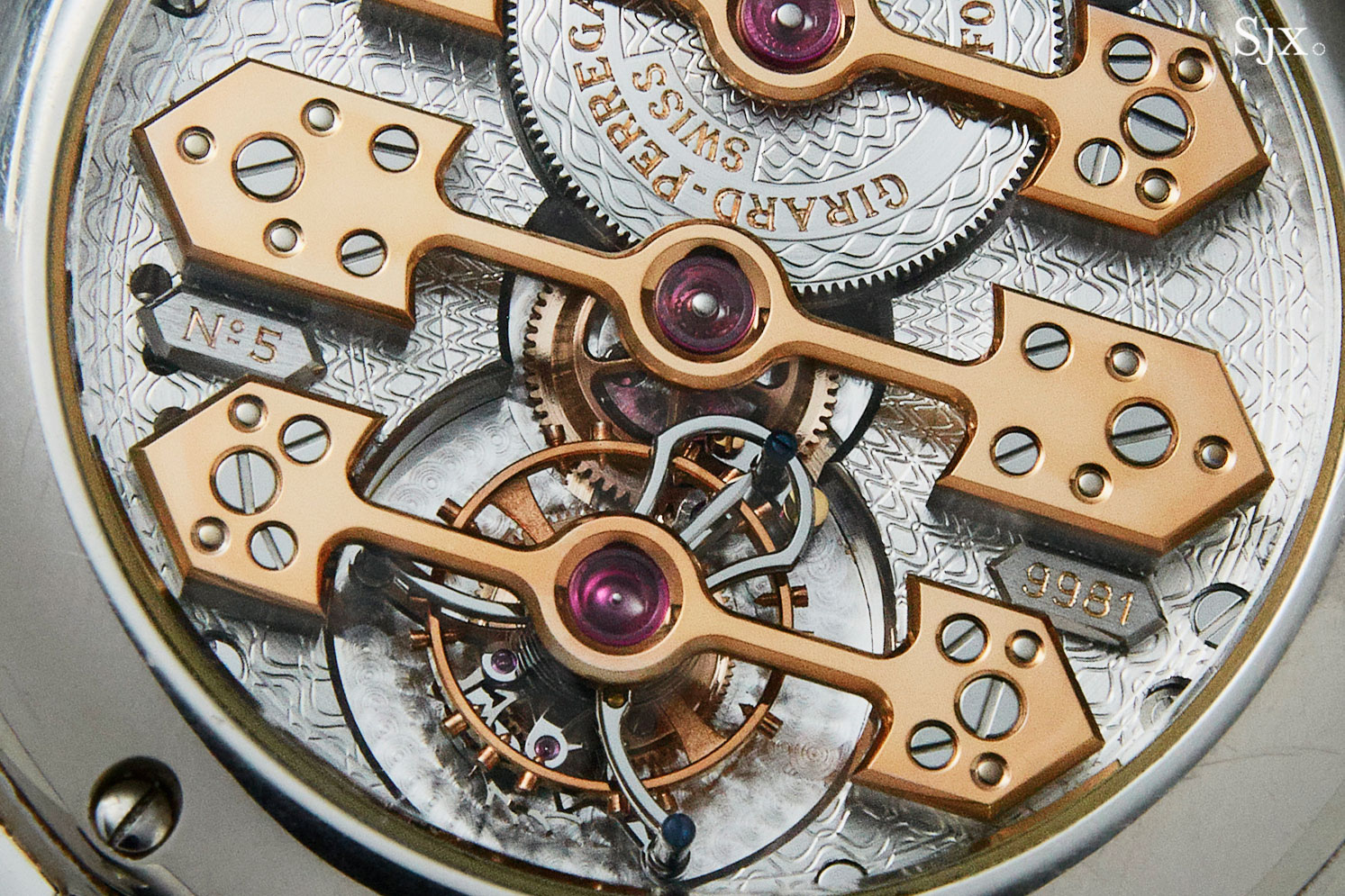 Girard-Perregaux Chronograph Gold Bridges Tourbillon 2