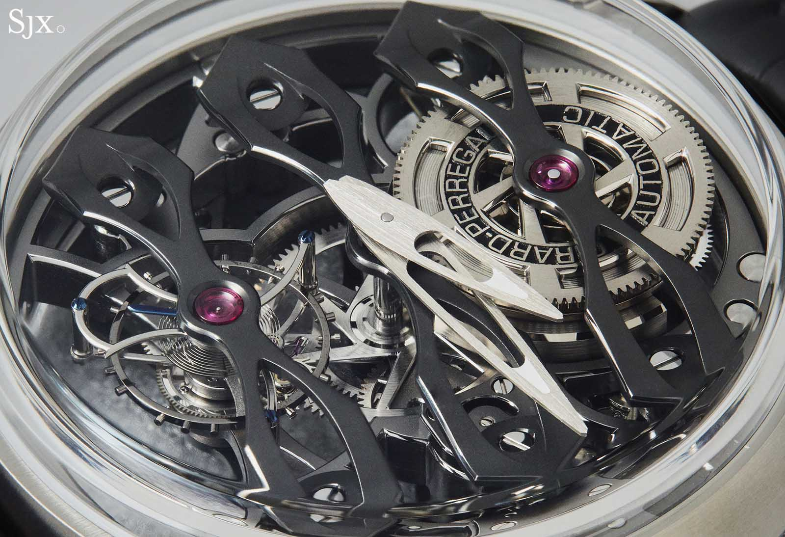 Girard Perregaux Neo-Tourbillon With Three Bridges Skeleton 7