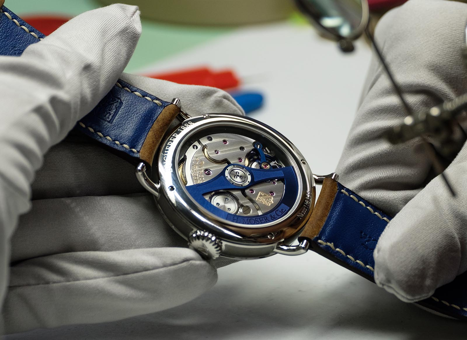 H. Moser & Cie. Heritage Bucherer Blue Edition 3