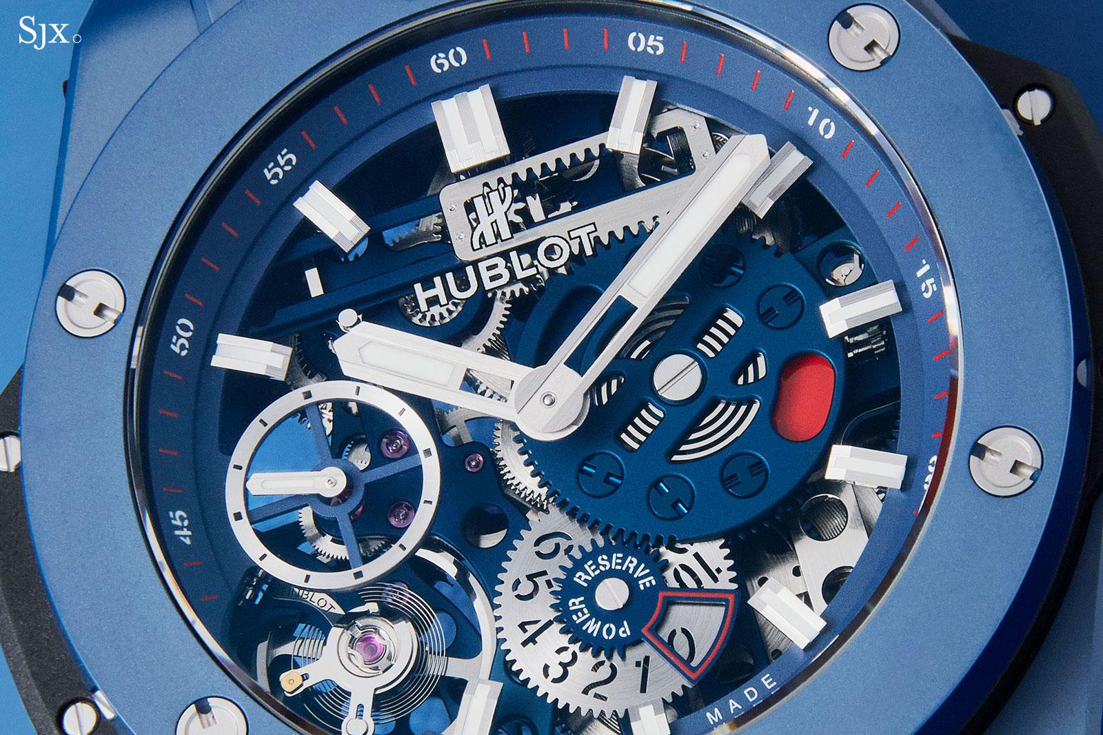 Hublot Big Bang Meca-10 Blue Ceramic 1