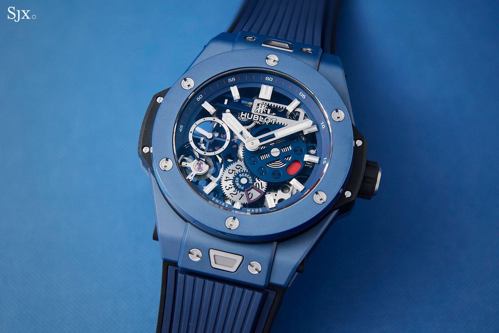 Hublot Big Bang Meca-10 Blue Ceramic 2