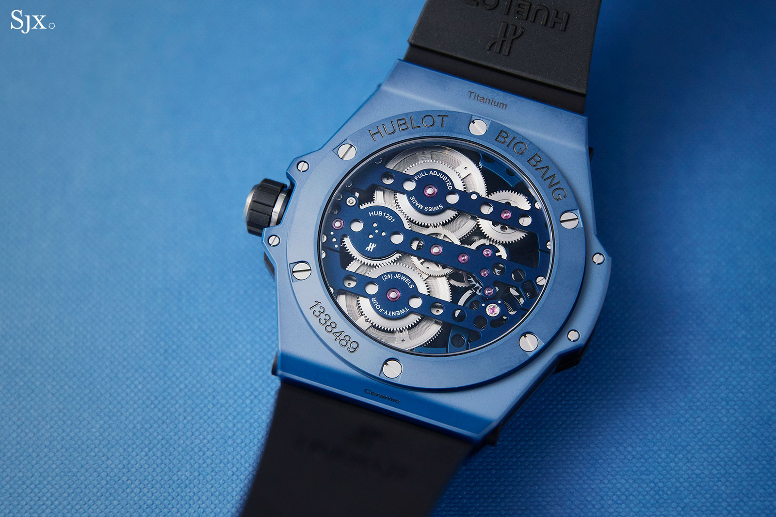 Hublot Big Bang Meca-10 Blue Ceramic 3