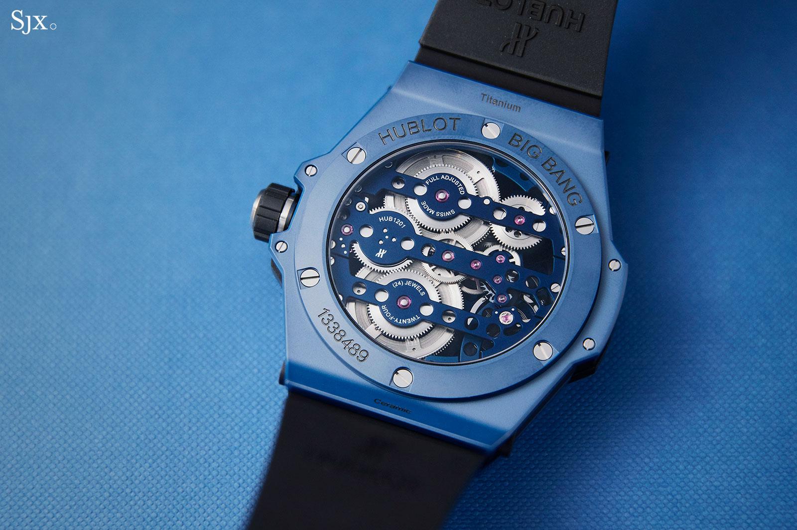 Hublot Big Bang Meca-10 Blue Ceramic 3