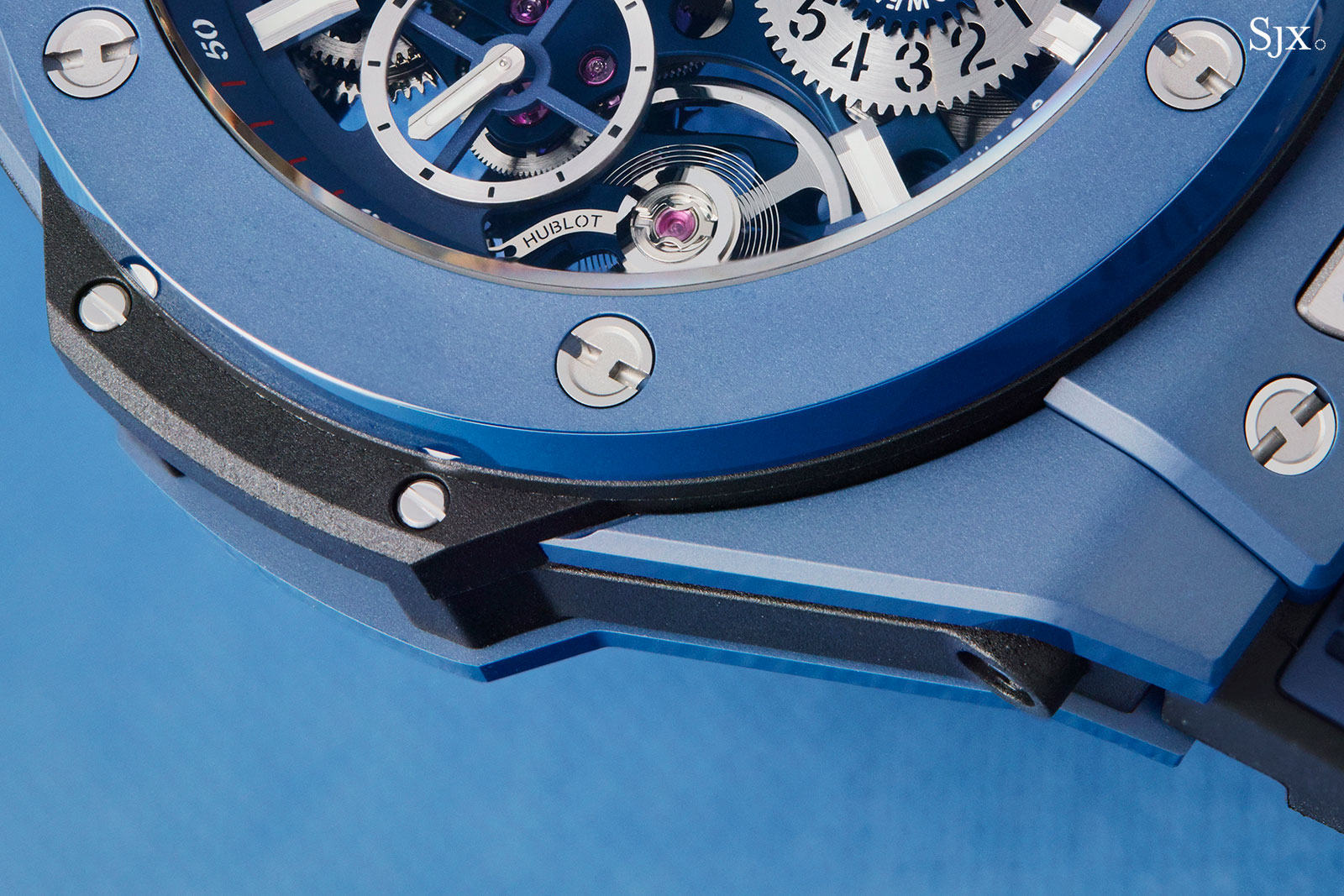 Hublot Big Bang Meca-10 Blue Ceramic 4