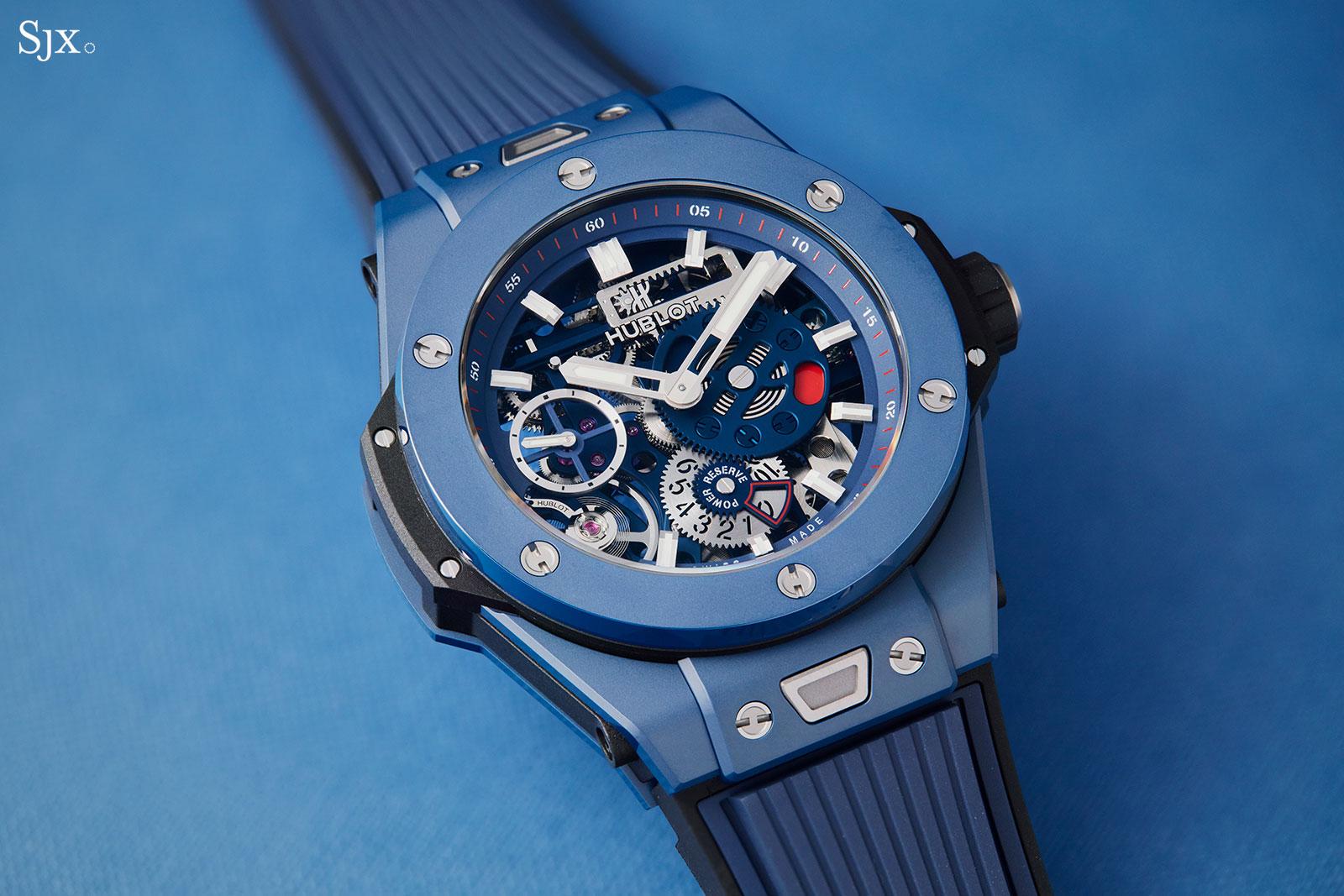 Hublot Big Bang Meca-10 Blue Ceramic 6