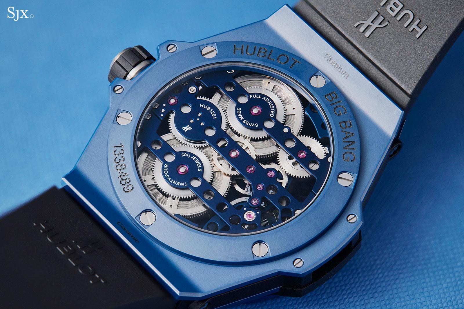Hublot Big Bang Meca-10 Blue Ceramic 8