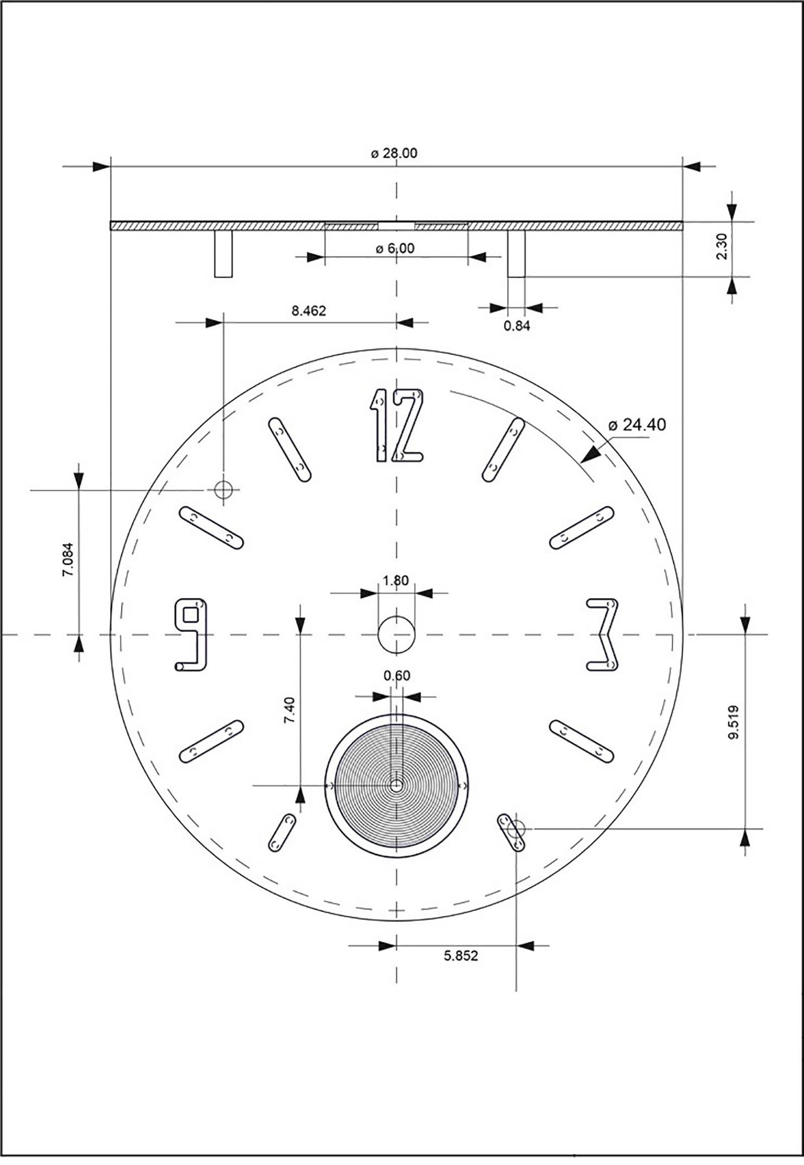 KHWCC-Dial design