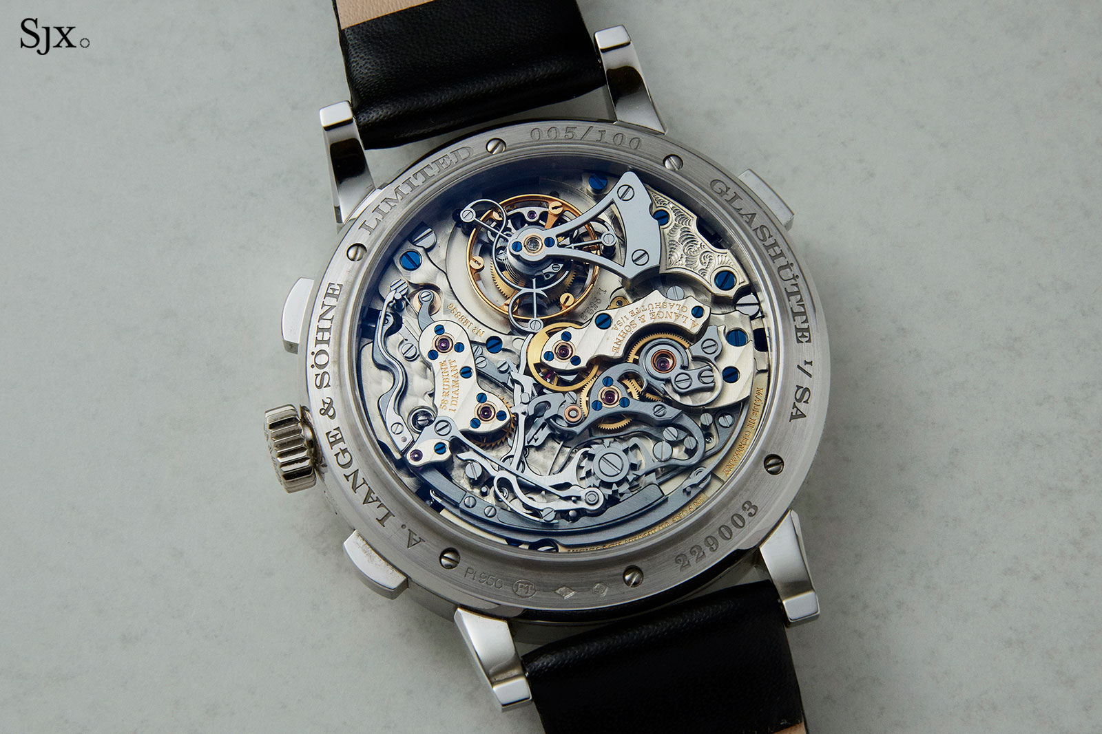 Lange Datograph Perpetual Tourbillon christies 4