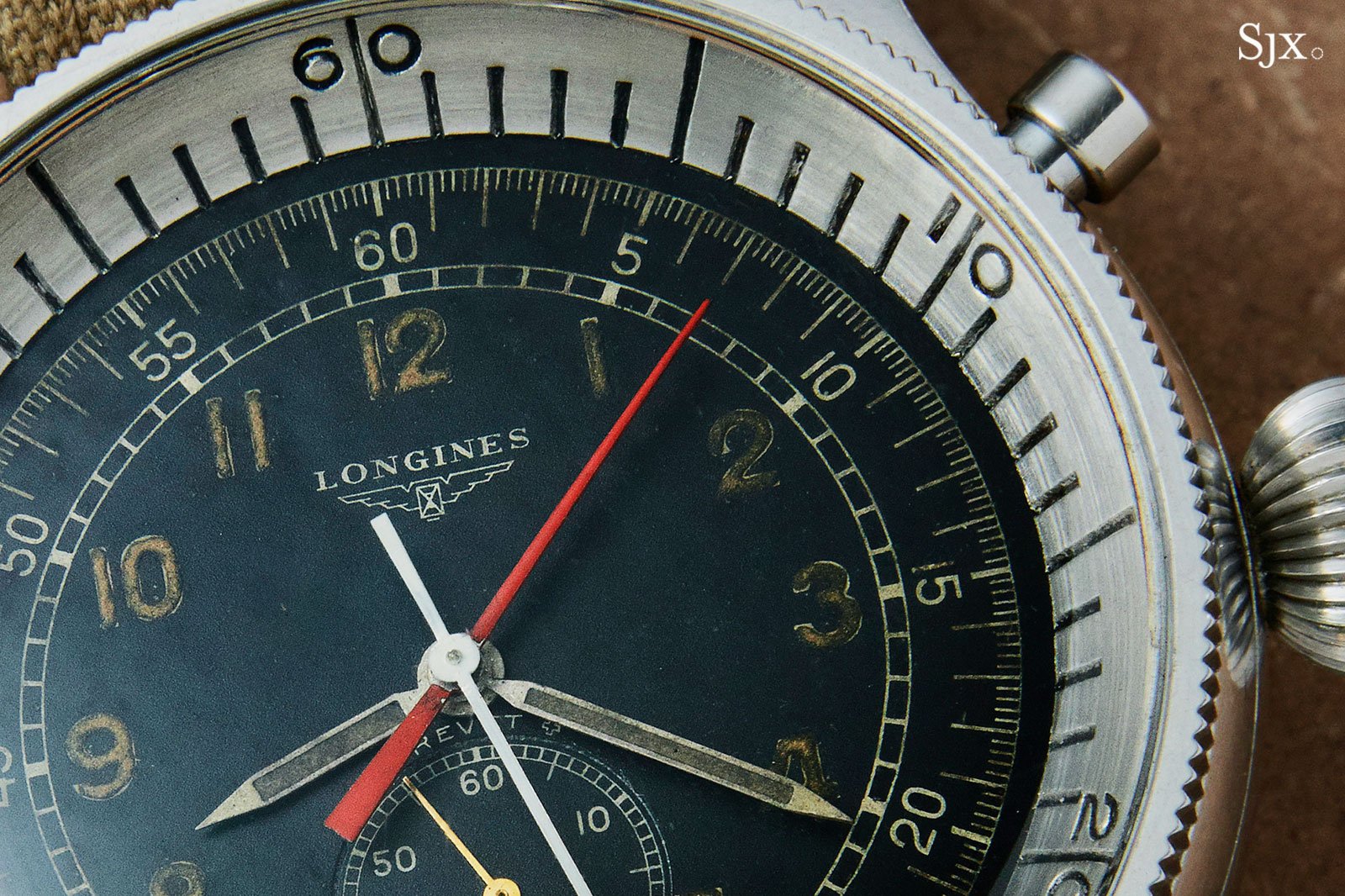 Longines 5824-4 stop second chronograph 1