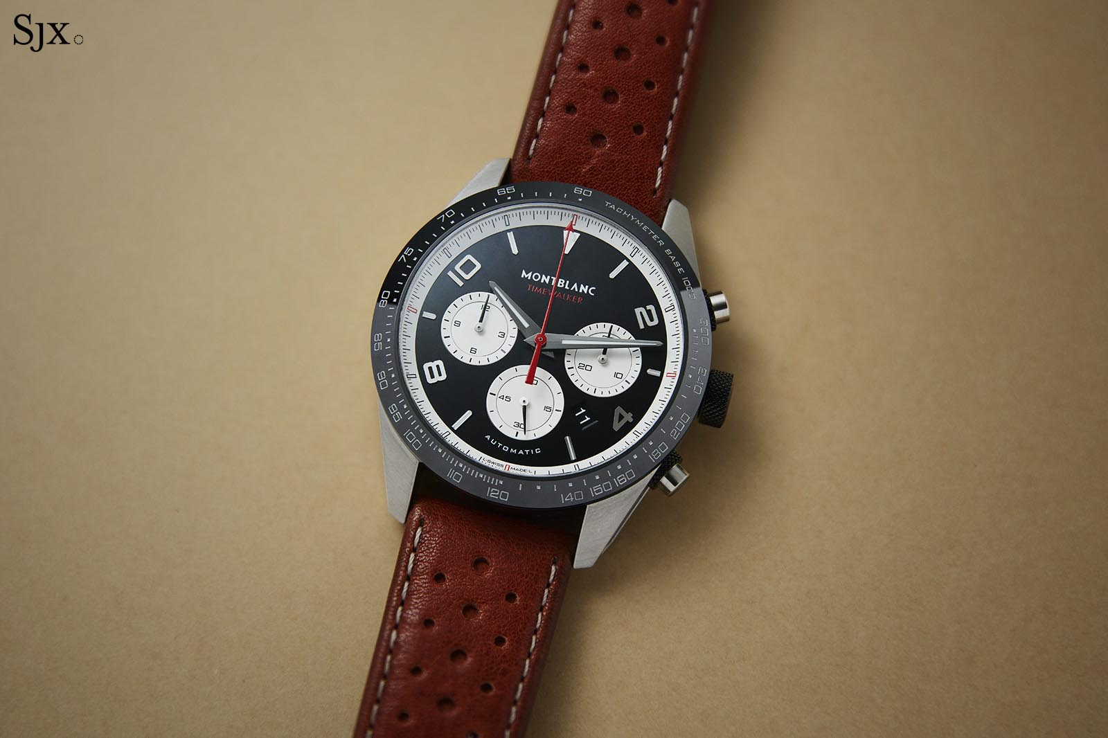 Monblanc Reverse Panda TimeWalker Manufacture Chronograph