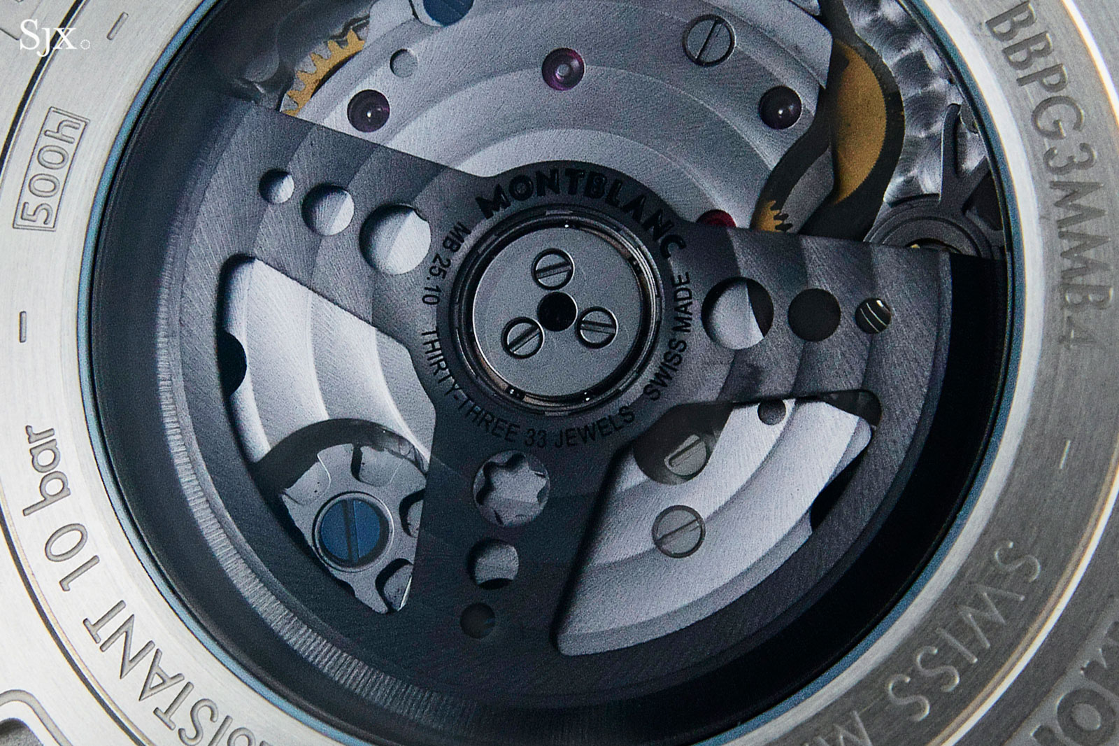 Montblanc TimeWalker Chronograph reverse panda manufacture movement