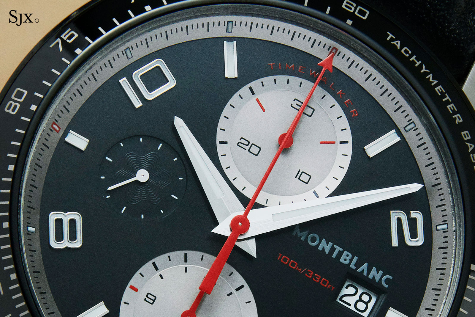Montblanc TimeWalker Chronograph reverse panda