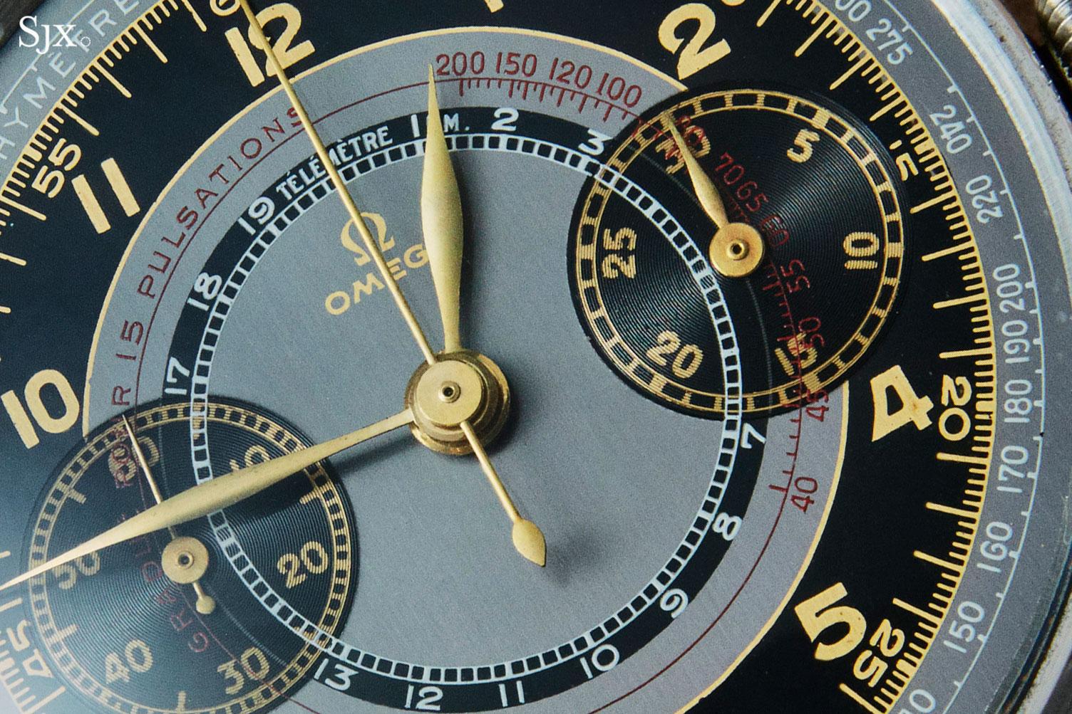 Omega CK2079 chronograph 33.3 2
