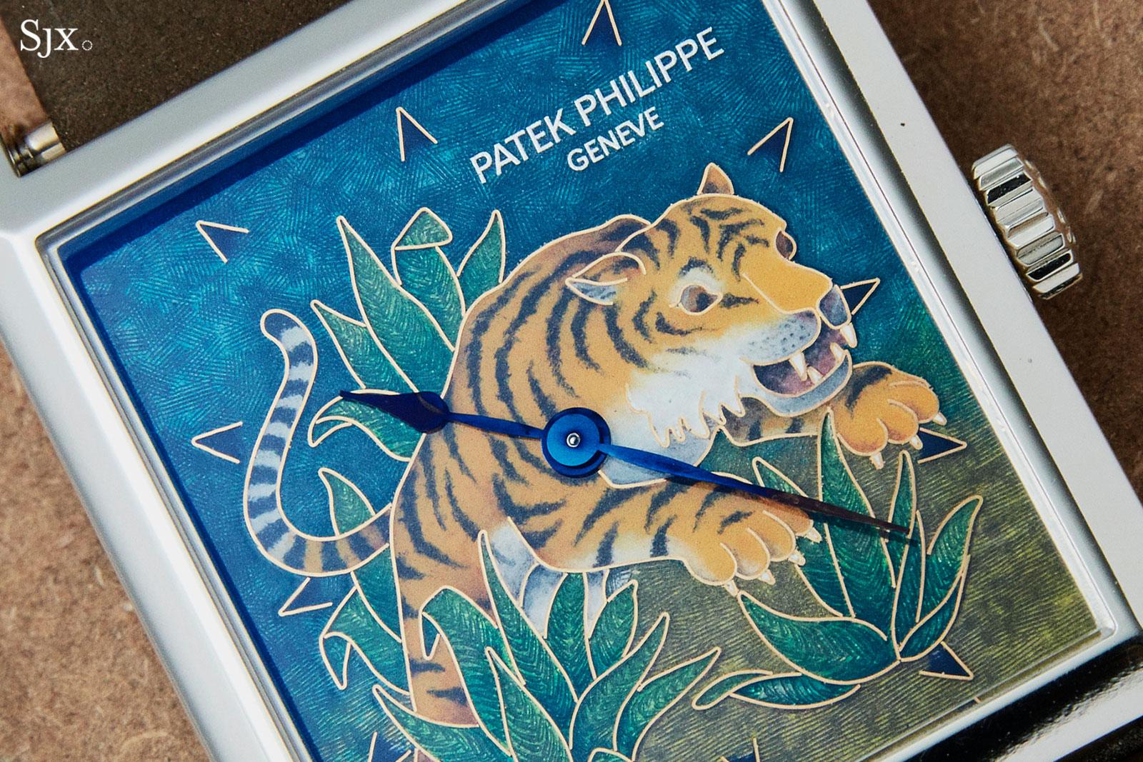 Patek 5076 cloisonne tiger 2