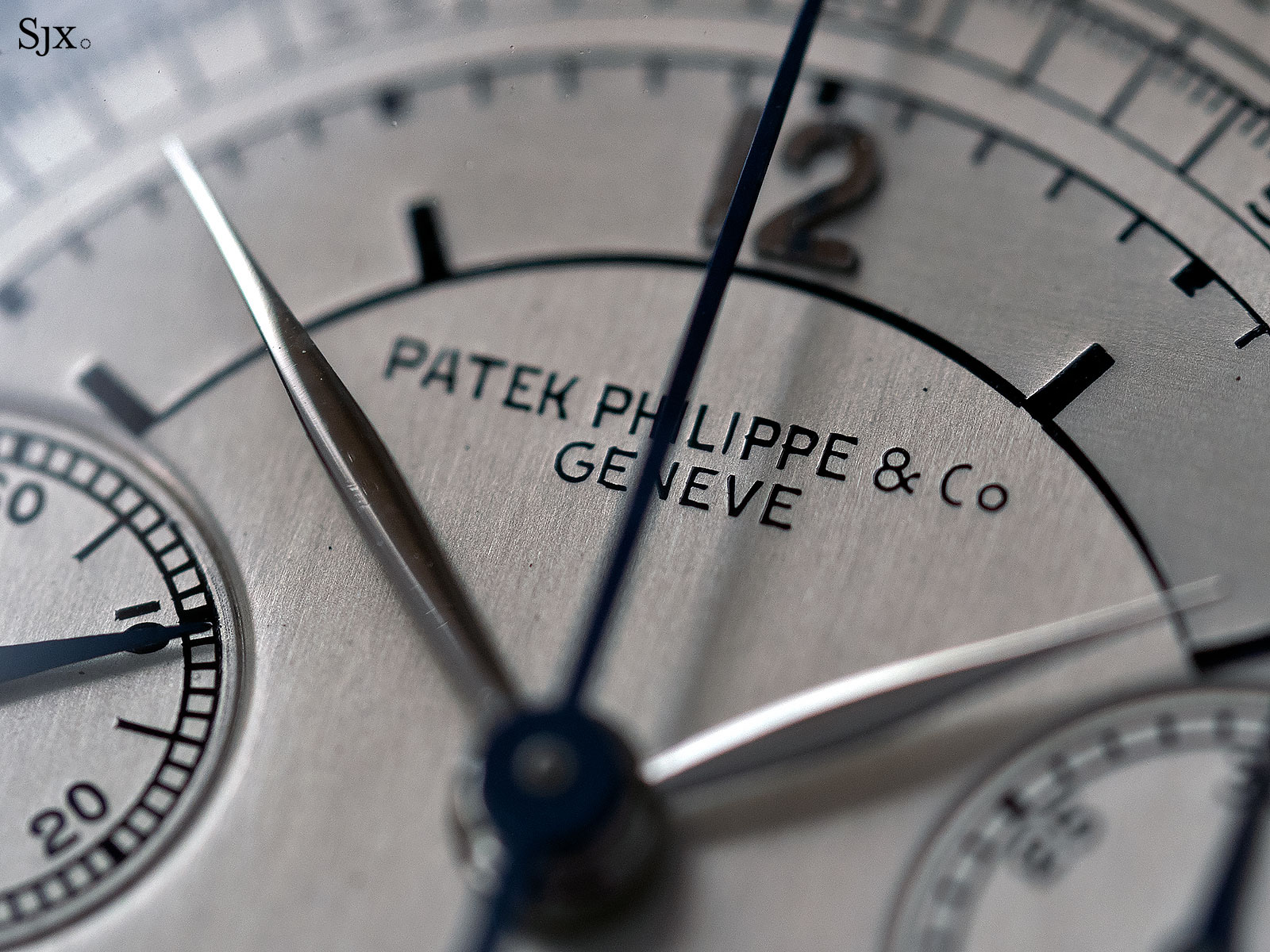 Patek Philippe 130 steel sector dial 3