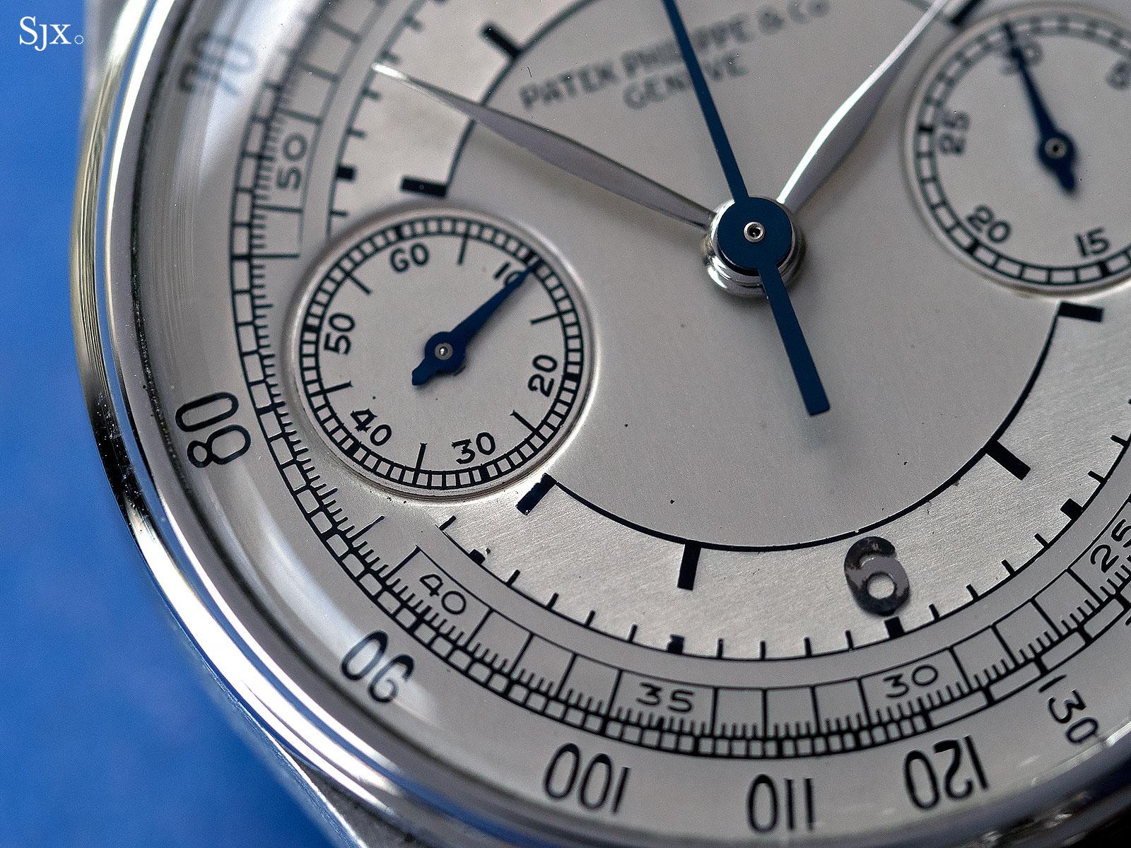 Patek Philippe 130 steel sector dial 4