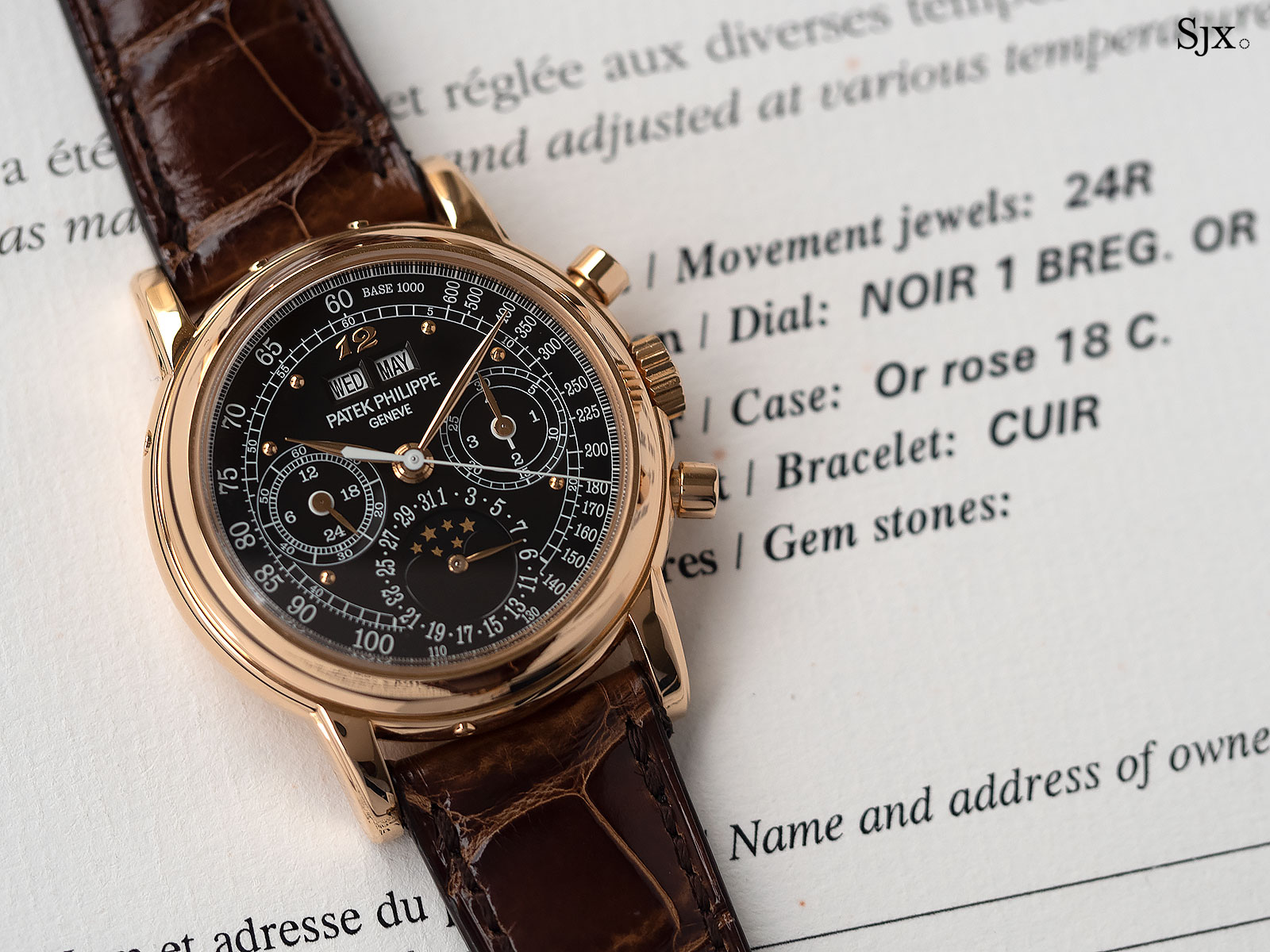Patek Philippe 3970R London 2015 7