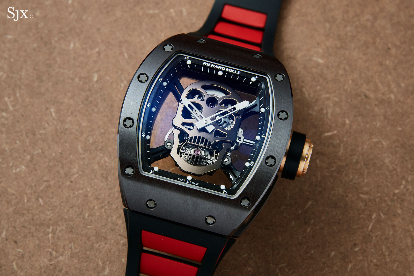 Richard Mille RM 52-01 Skull Asia Edition 1