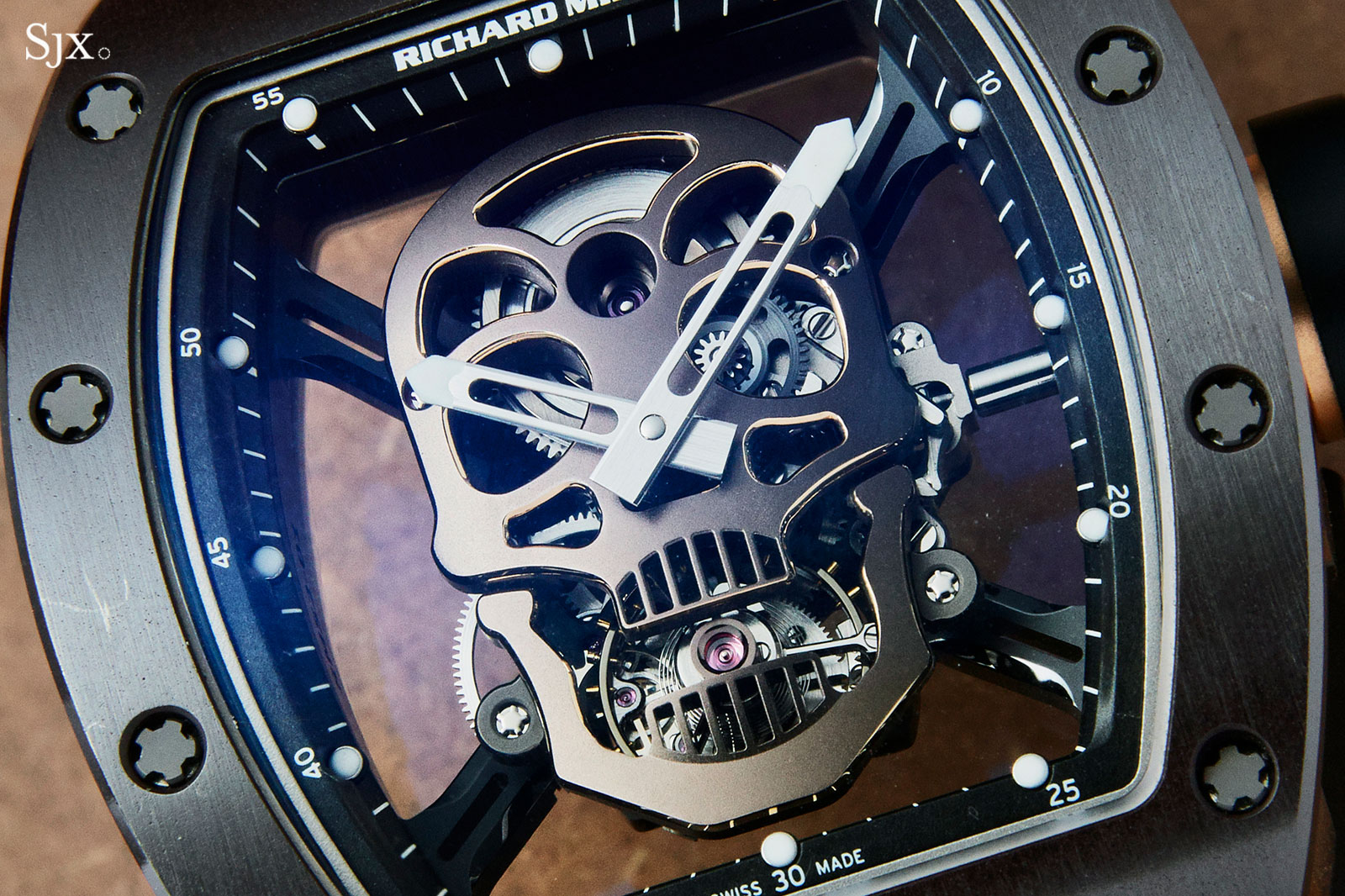 Richard Mille RM 52-01 Skull Asia Edition 2