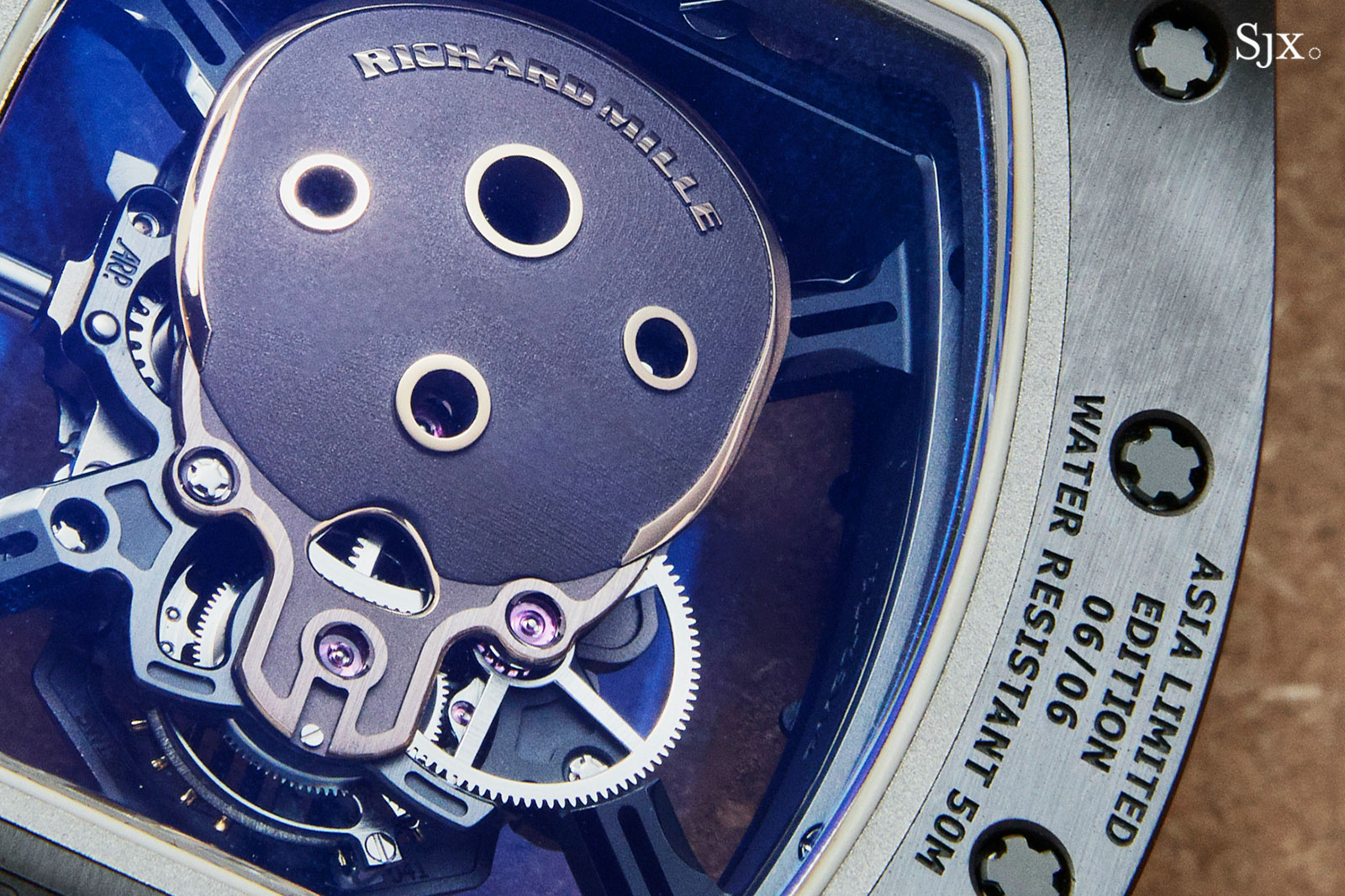Richard Mille RM 52-01 Skull Asia Edition 3