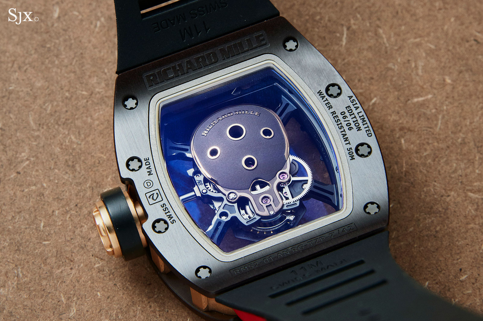 Richard Mille RM 52-01 Skull Asia Edition 4