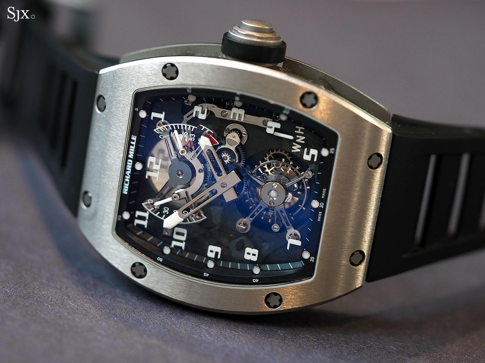 Richard Mille RM002-V2 titanium 1