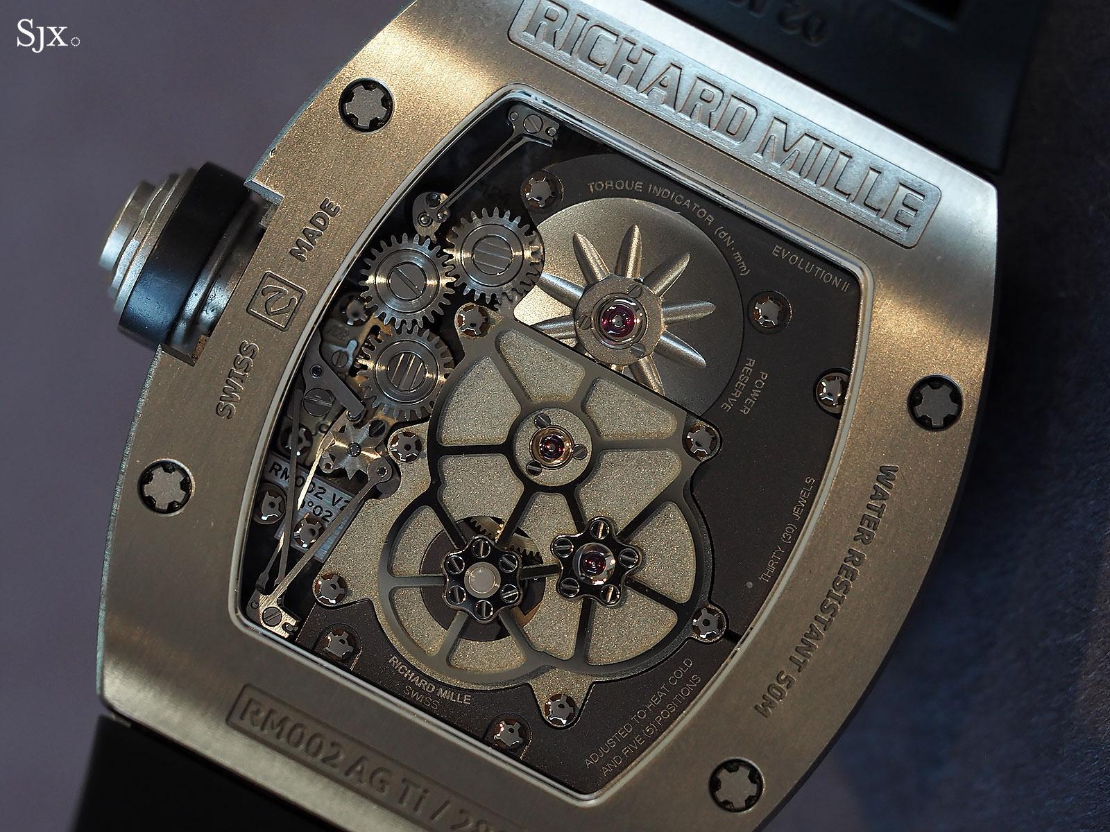 Richard Mille RM002-V2 titanium 3
