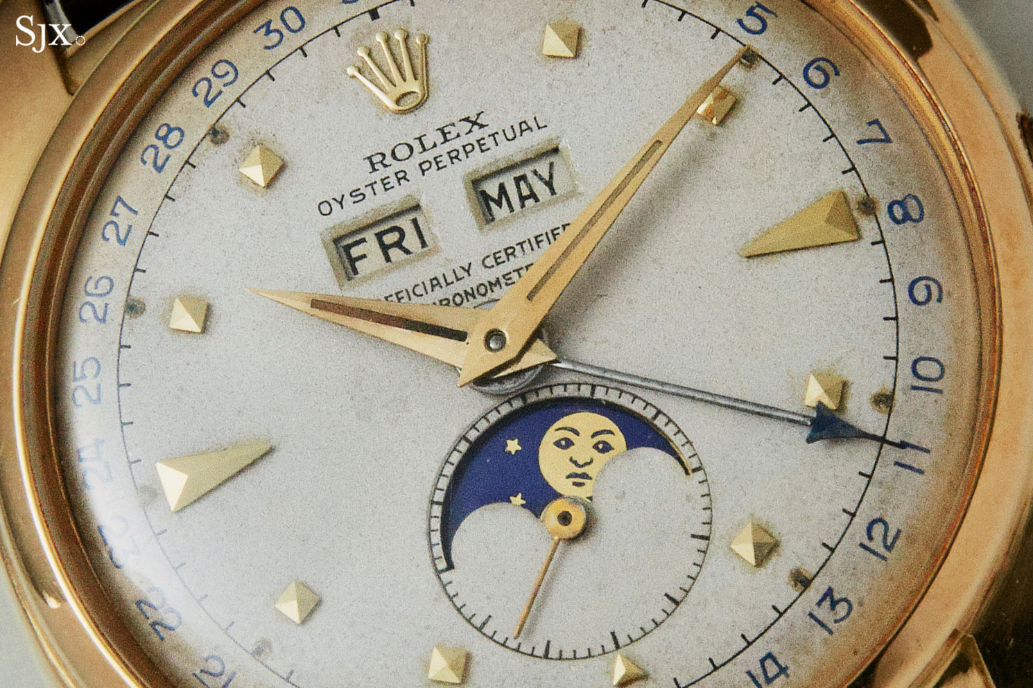 Rolex 6062 pyramid christies 1
