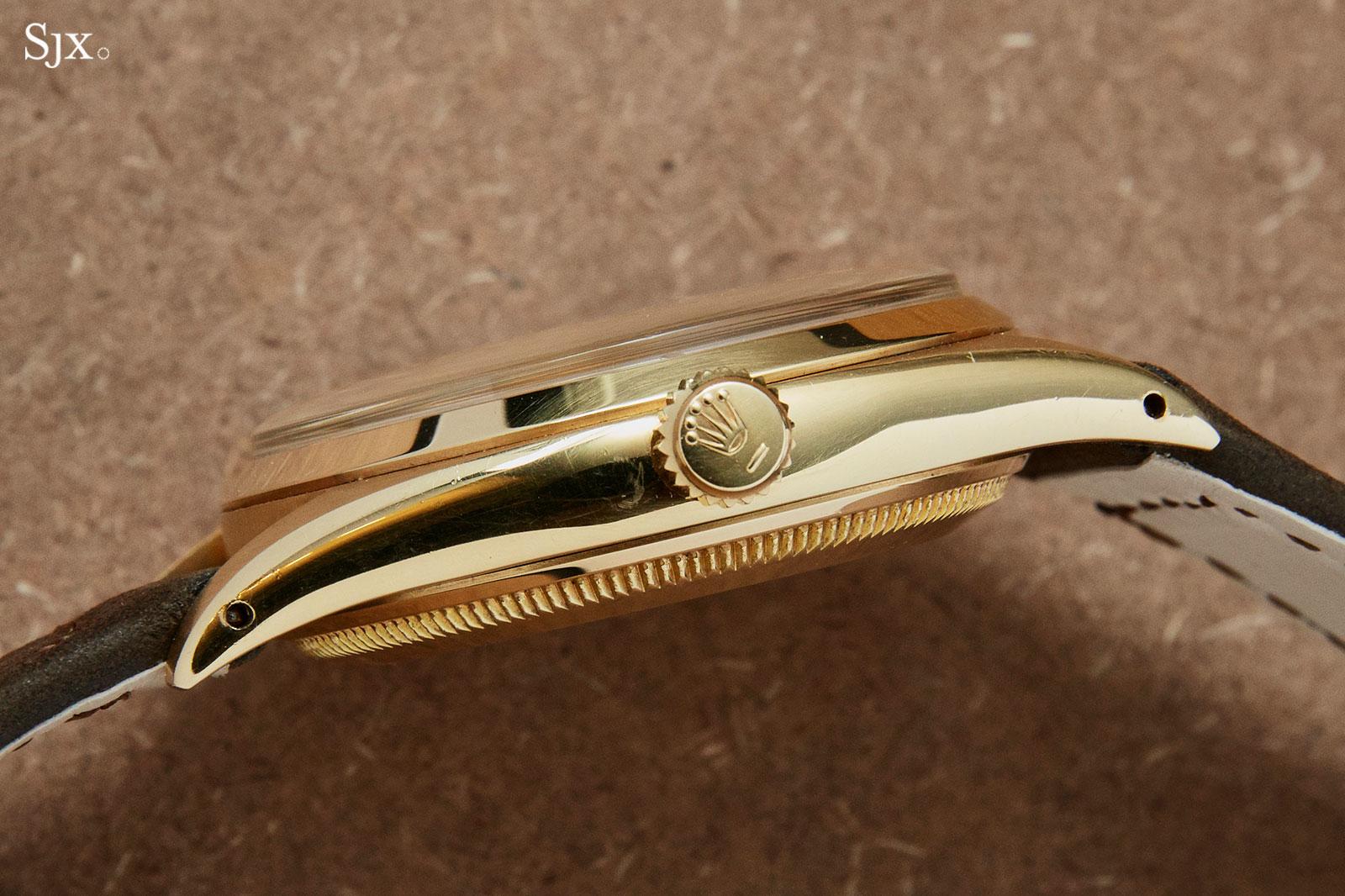 Rolex Tru-Beat 6556 18k gold 4
