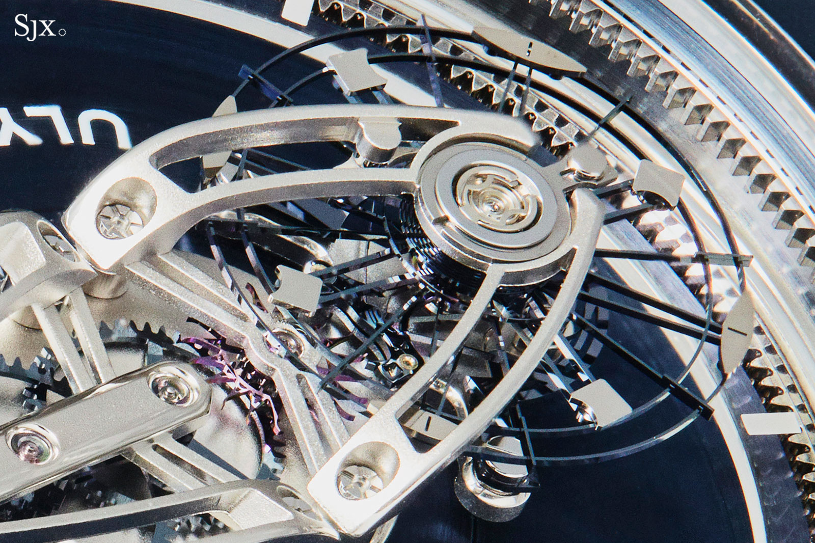 Ulysse Nardin Freak Vision Anchor escapement