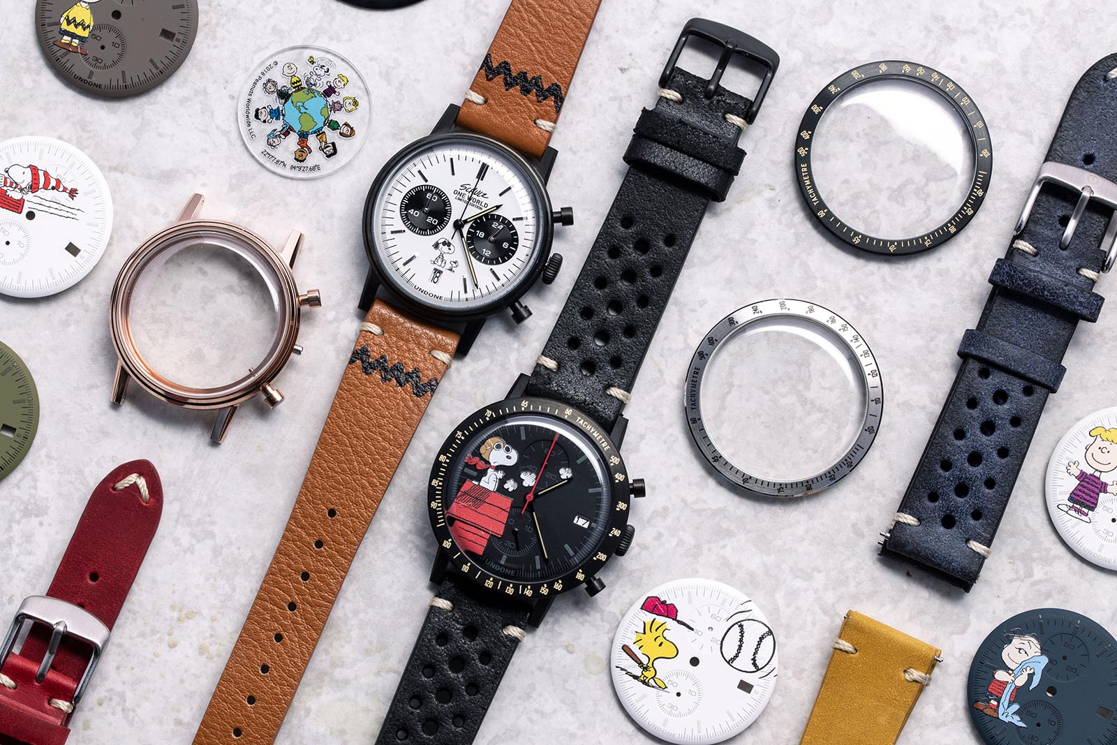 Undone Peanuts Urban One World Chronograph Collection