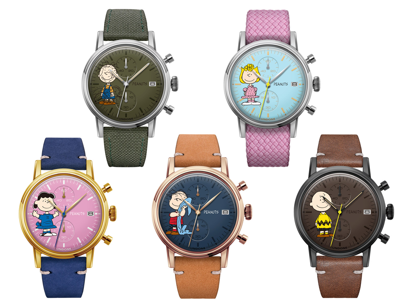 Undone Peanuts Urban One World Chronograph Custom examples