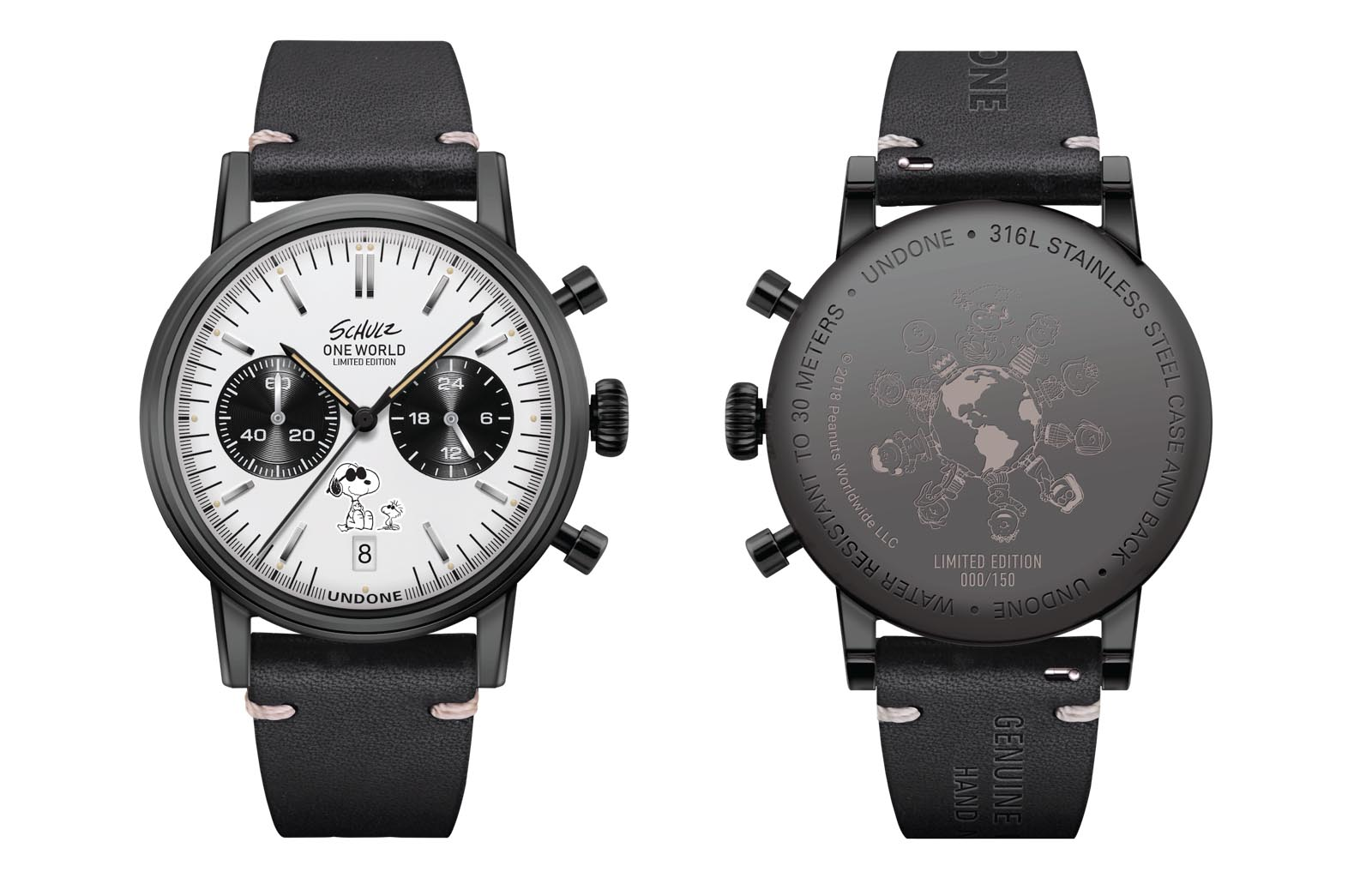 Undone Peanuts Urban One World Chronograph limited edition